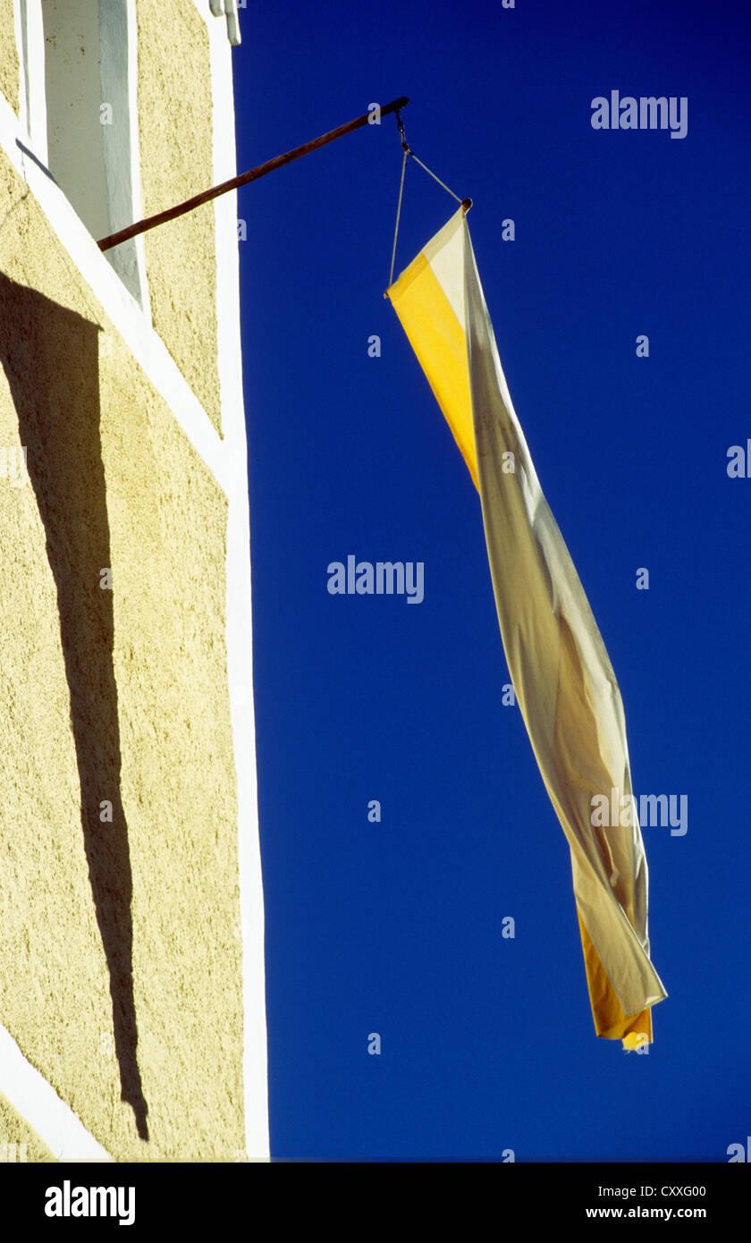 Pour le drapeau 'Zachée' anniversaire de l'église, église fille Saint Pierre et Paul, Photo Stock