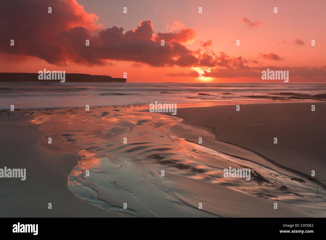 Orkney Islands, Skaill Beach Photo Stock