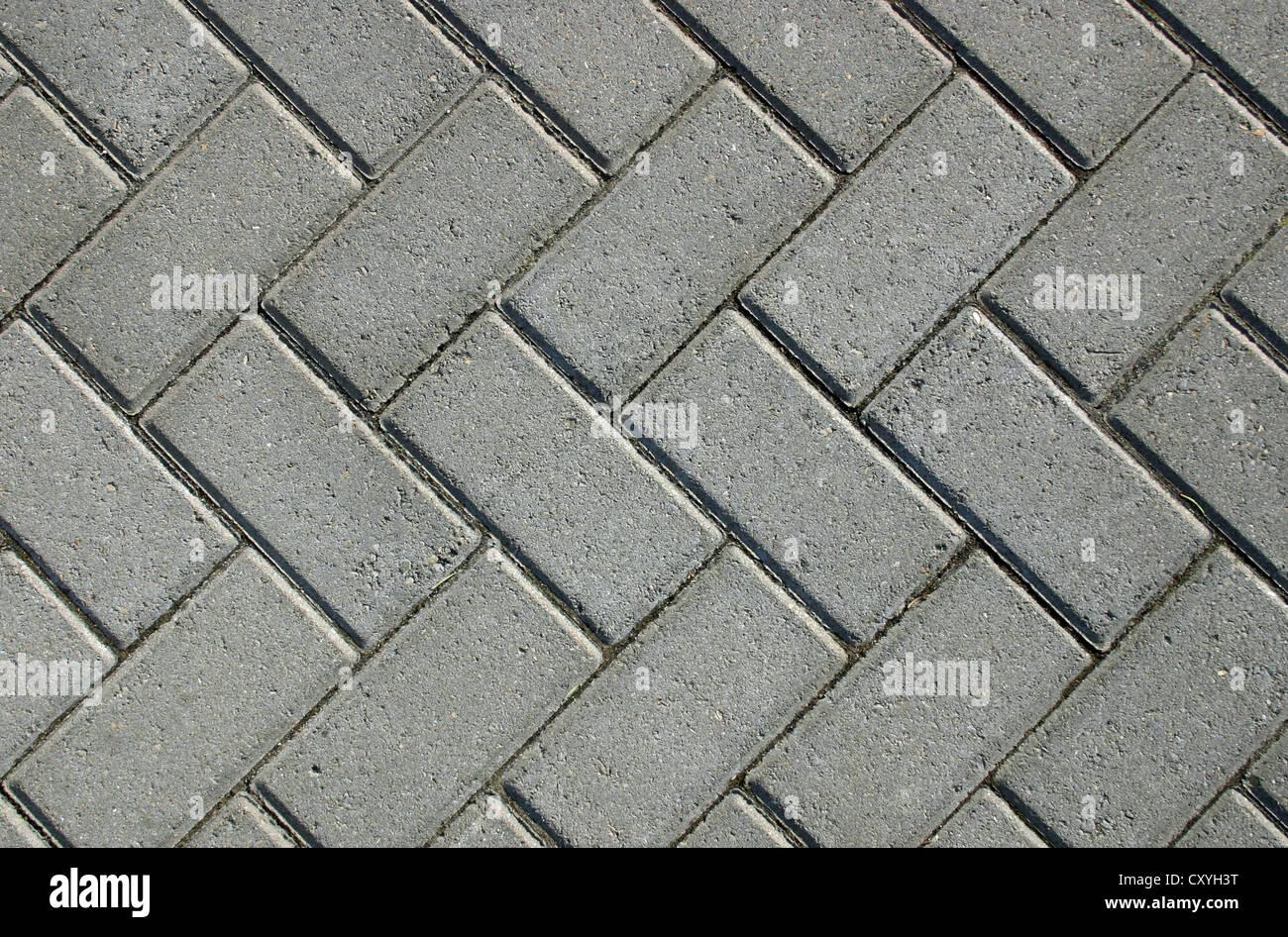 La texture d'une brique à pied adapté pour différents Photo Stock