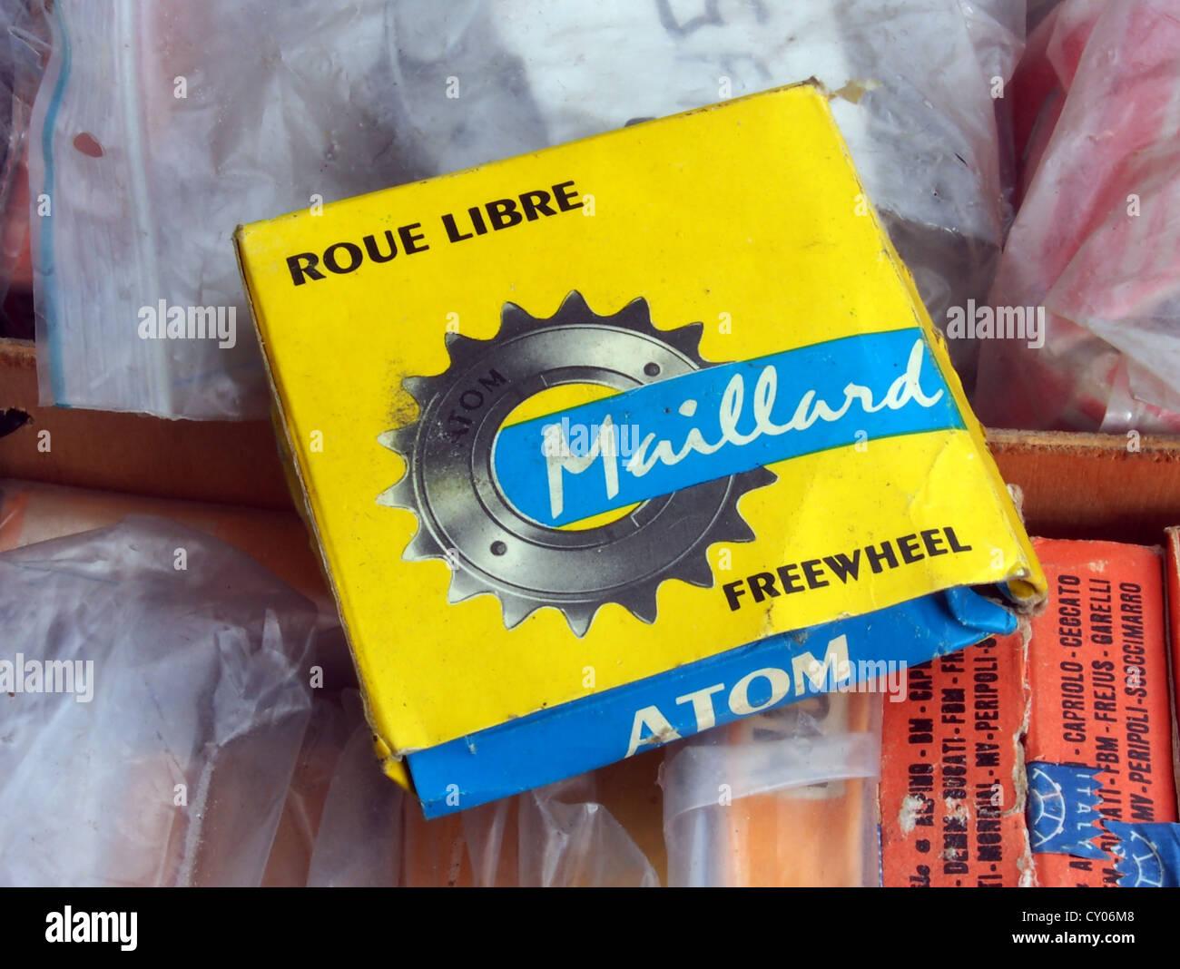Roue Libre Roue libre Atom Maillard Photo Stock