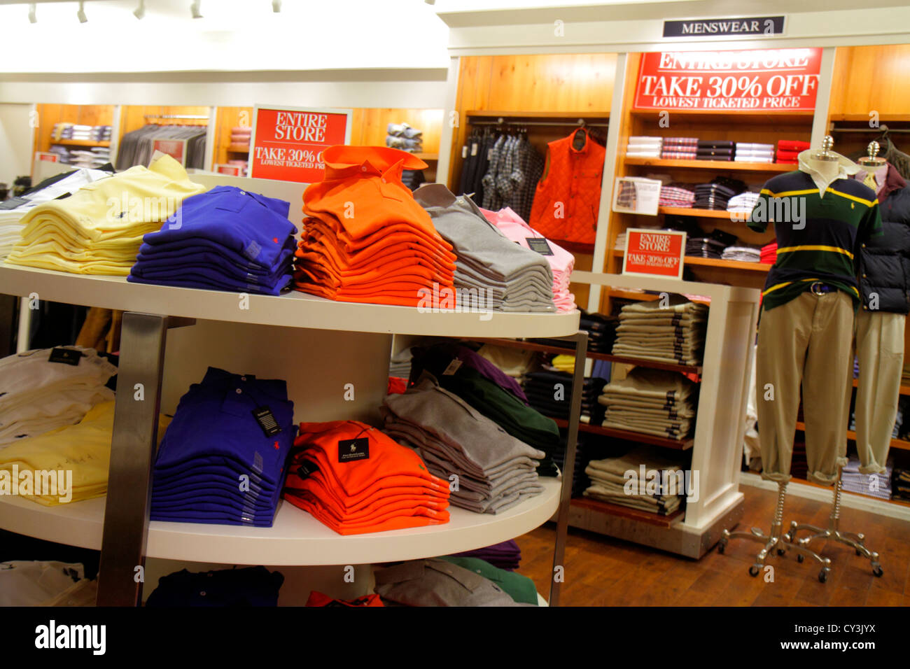 Route Vêtements Maine Street 1 Shopping Main Polo Freeport Ralph IybY76fgv
