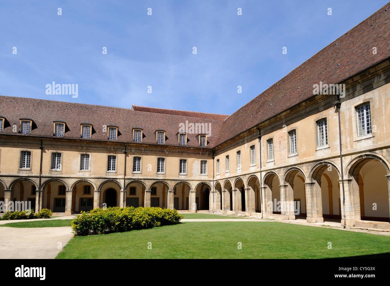 L'Abbaye de Cluny, un monastère bénédictin à Cluny, Saône et Loire, Bourgogne, France Photo Stock