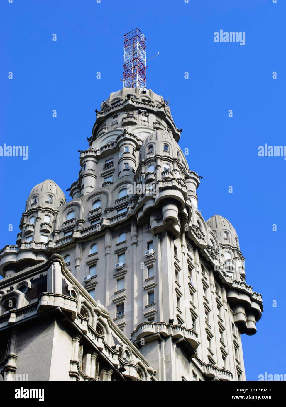 Palacio Salvo, Montevideo, Uruguay, Amérique du Sud Photo Stock