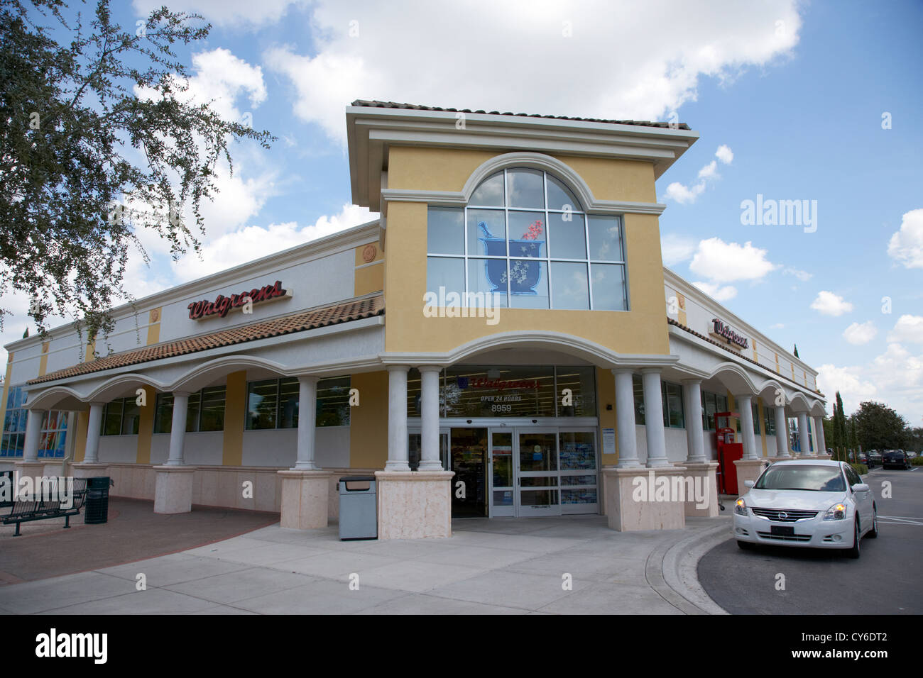 Walgreens drug store orlando florida usa Photo Stock
