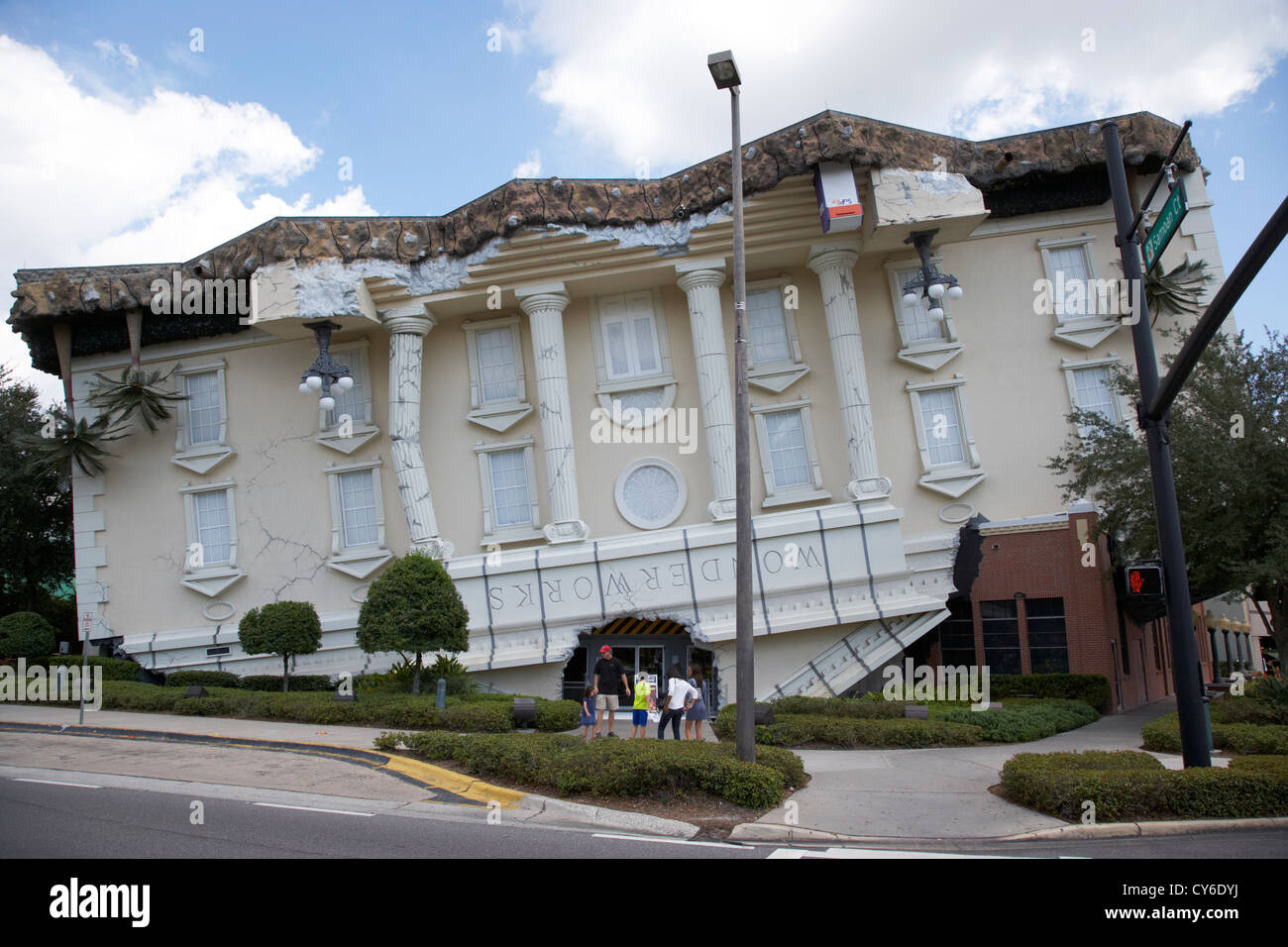 Wonderworks attraction touristique sur International Drive Orlando florida usa Photo Stock