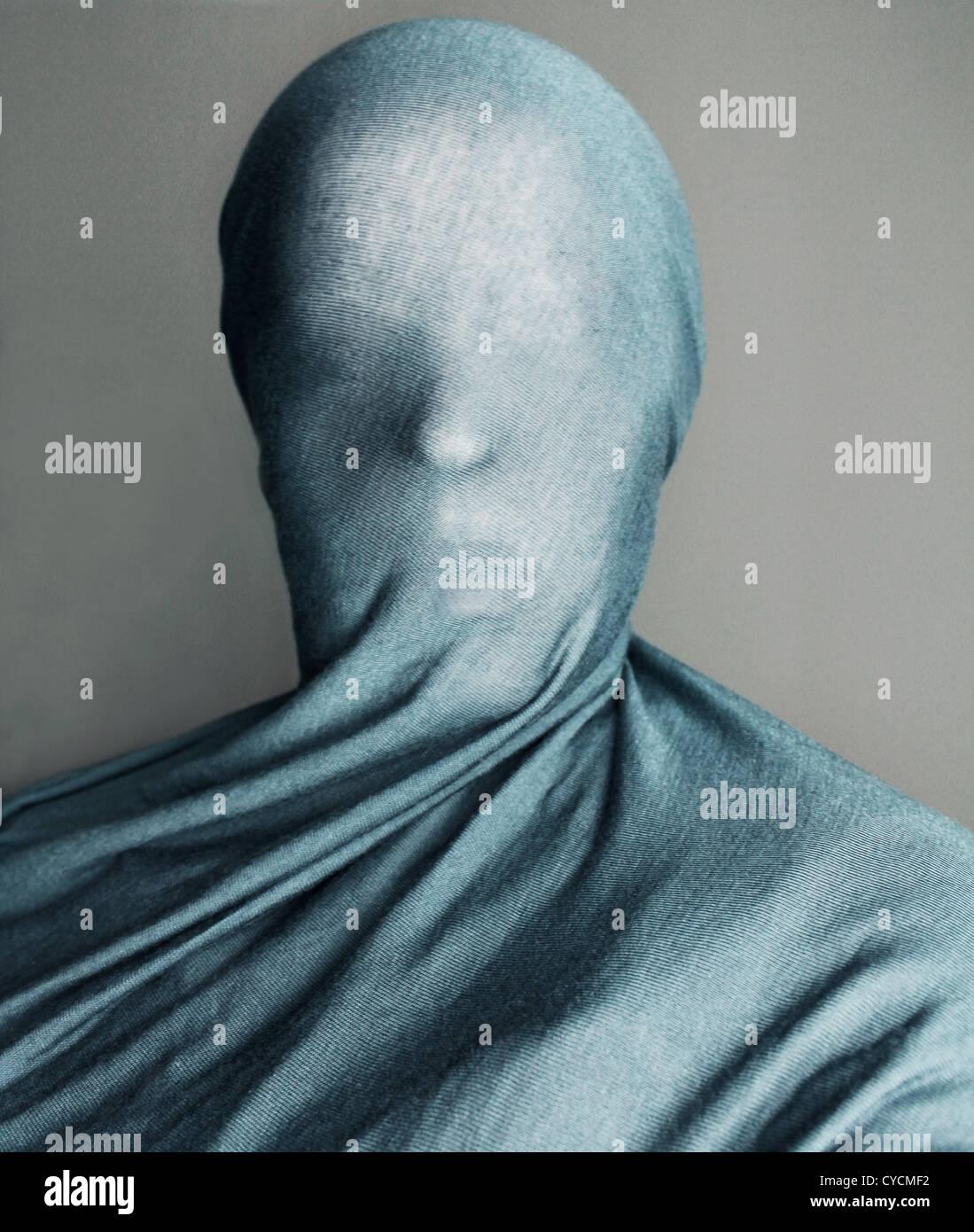 Anonyme,voilée,tissu Photo Stock