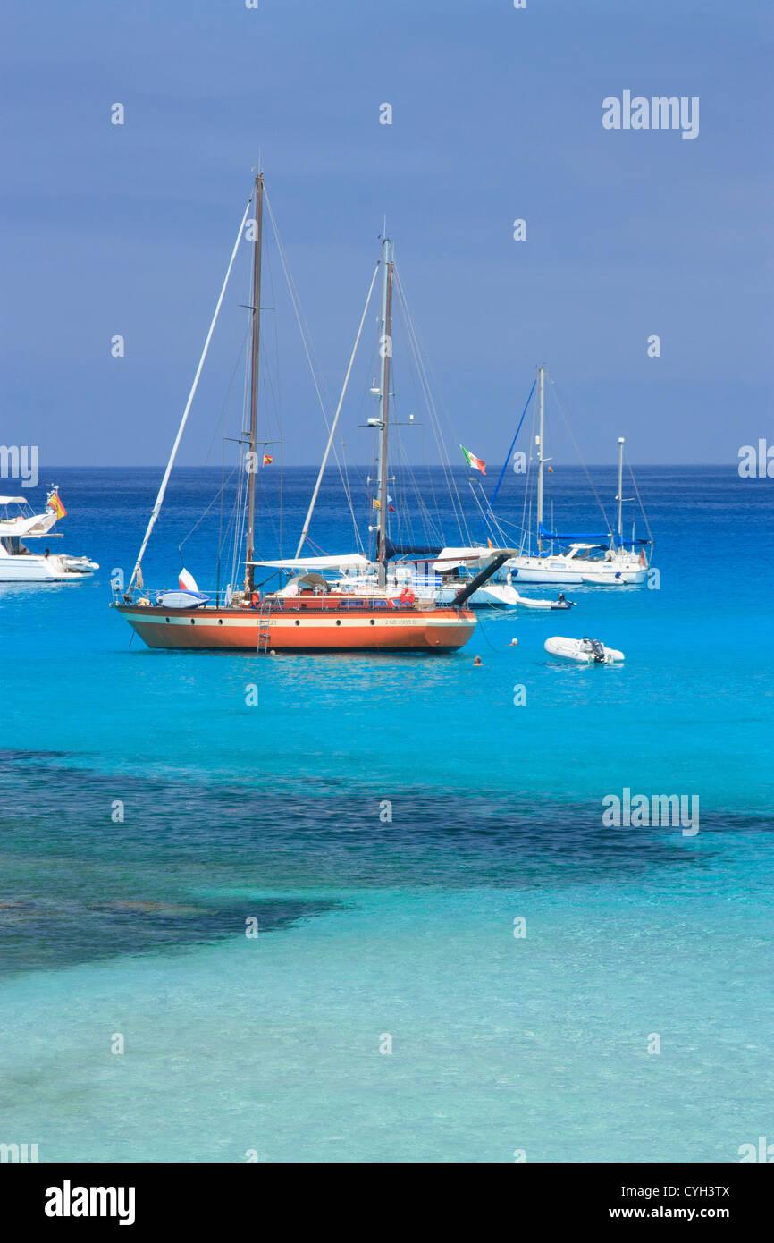 Formentera. Islas Baleares. España / Formentera. Îles Baléares. Espagne Photo Stock