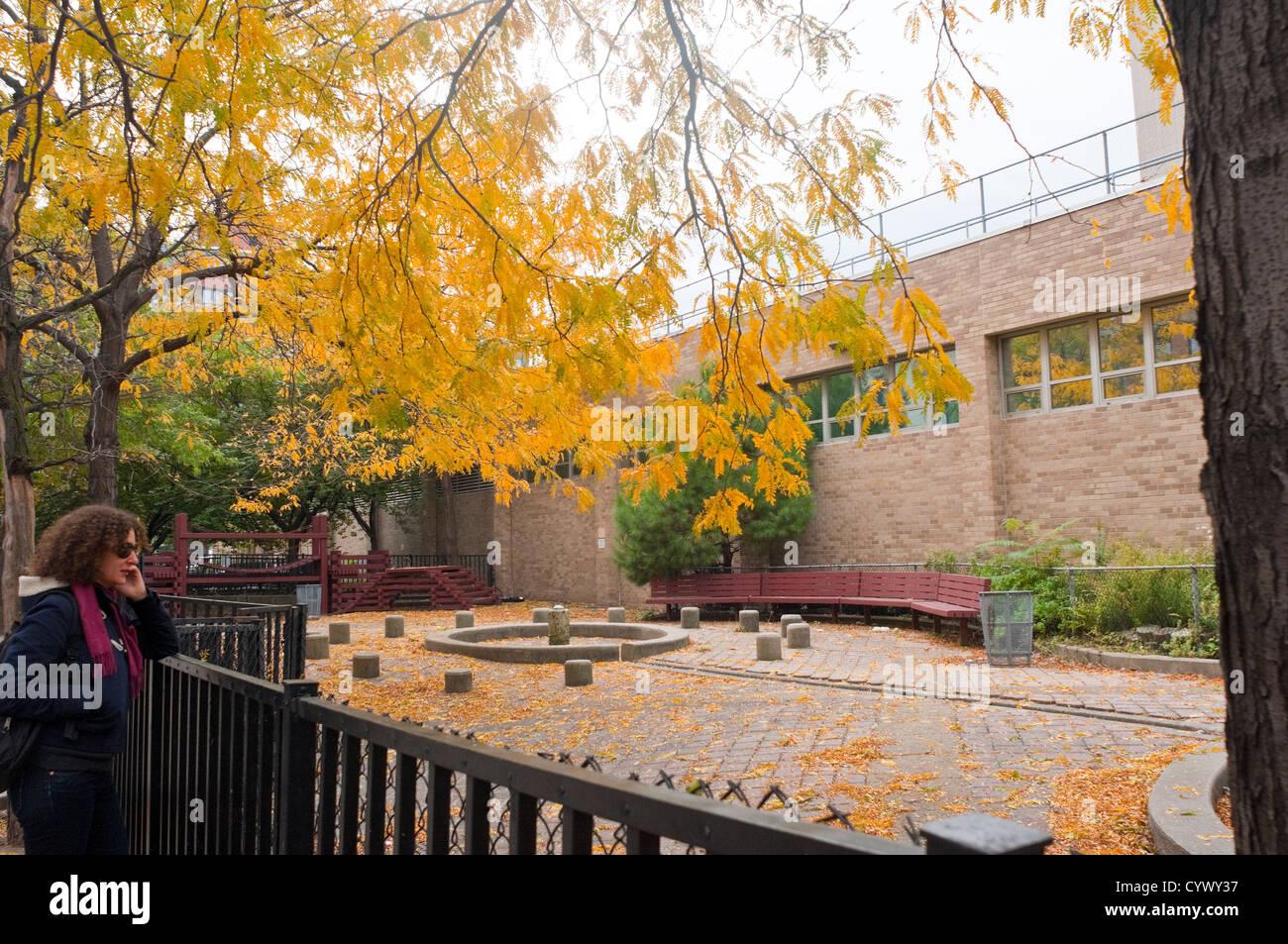Coles, centre de sports et de loisirs sur le campus de l'université de New York Photo Stock