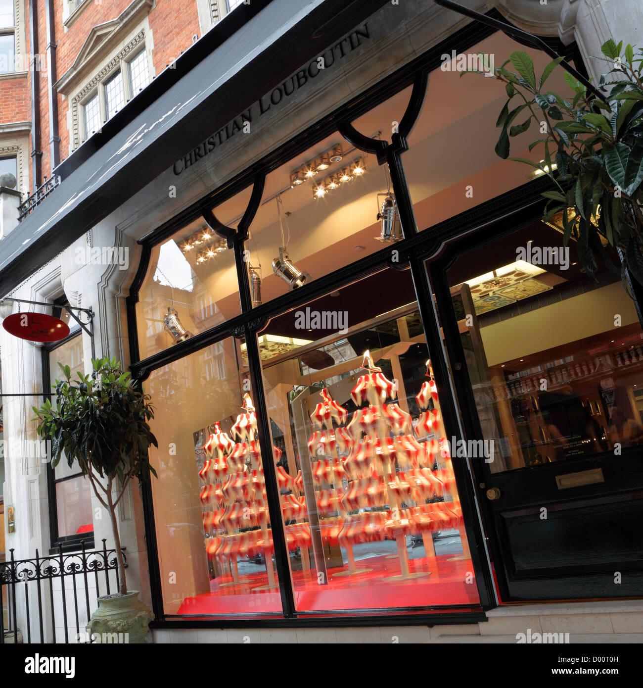 la meilleure attitude 9b7b7 a12ee Christian Louboutin Shop Window Photos & Christian Louboutin ...