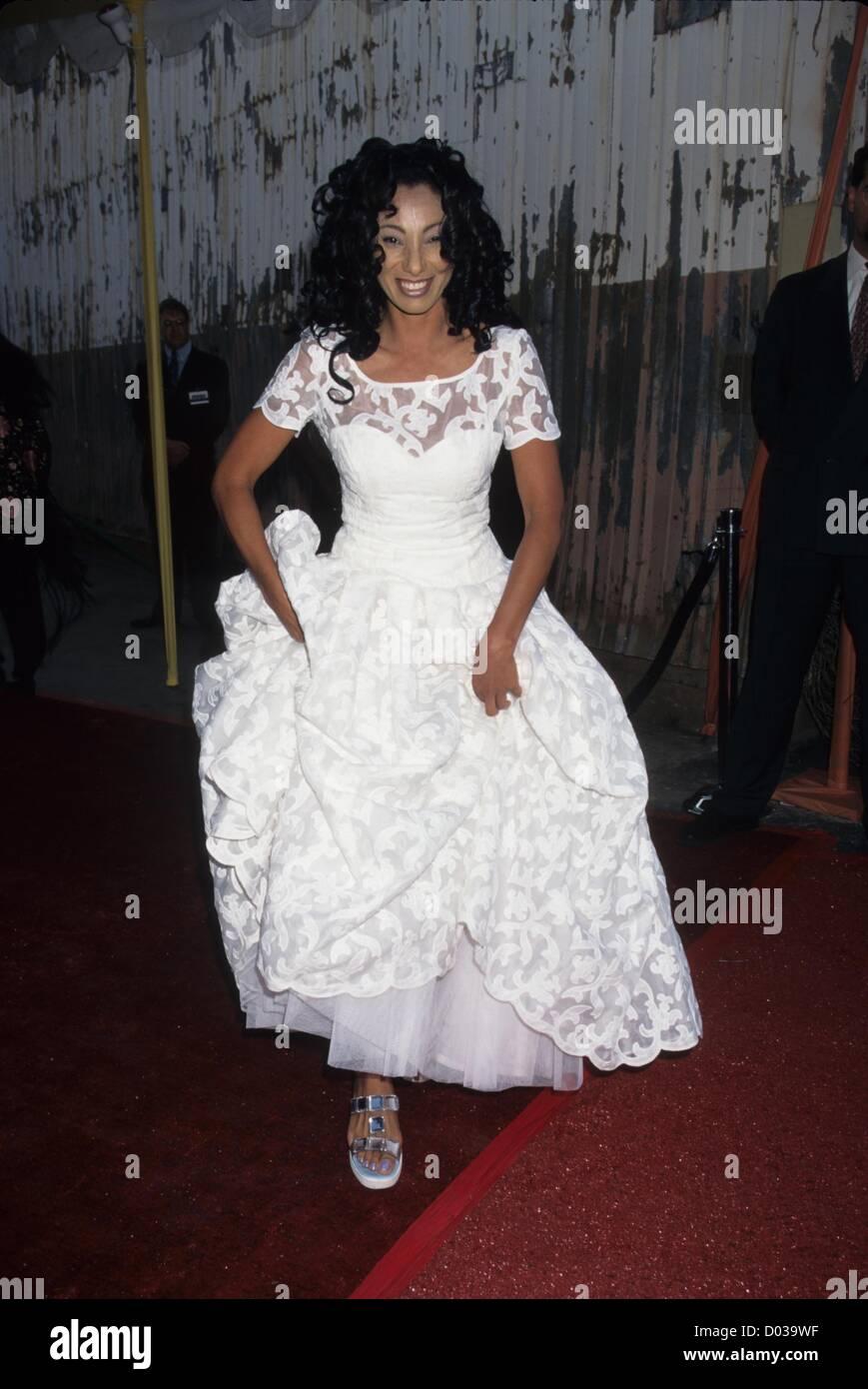 JULIE BROWN 1996.A.P.L.A. Todd Oldham rend hommage à Los Angeles Fashion Show.(Image Crédit: © Photo Stock