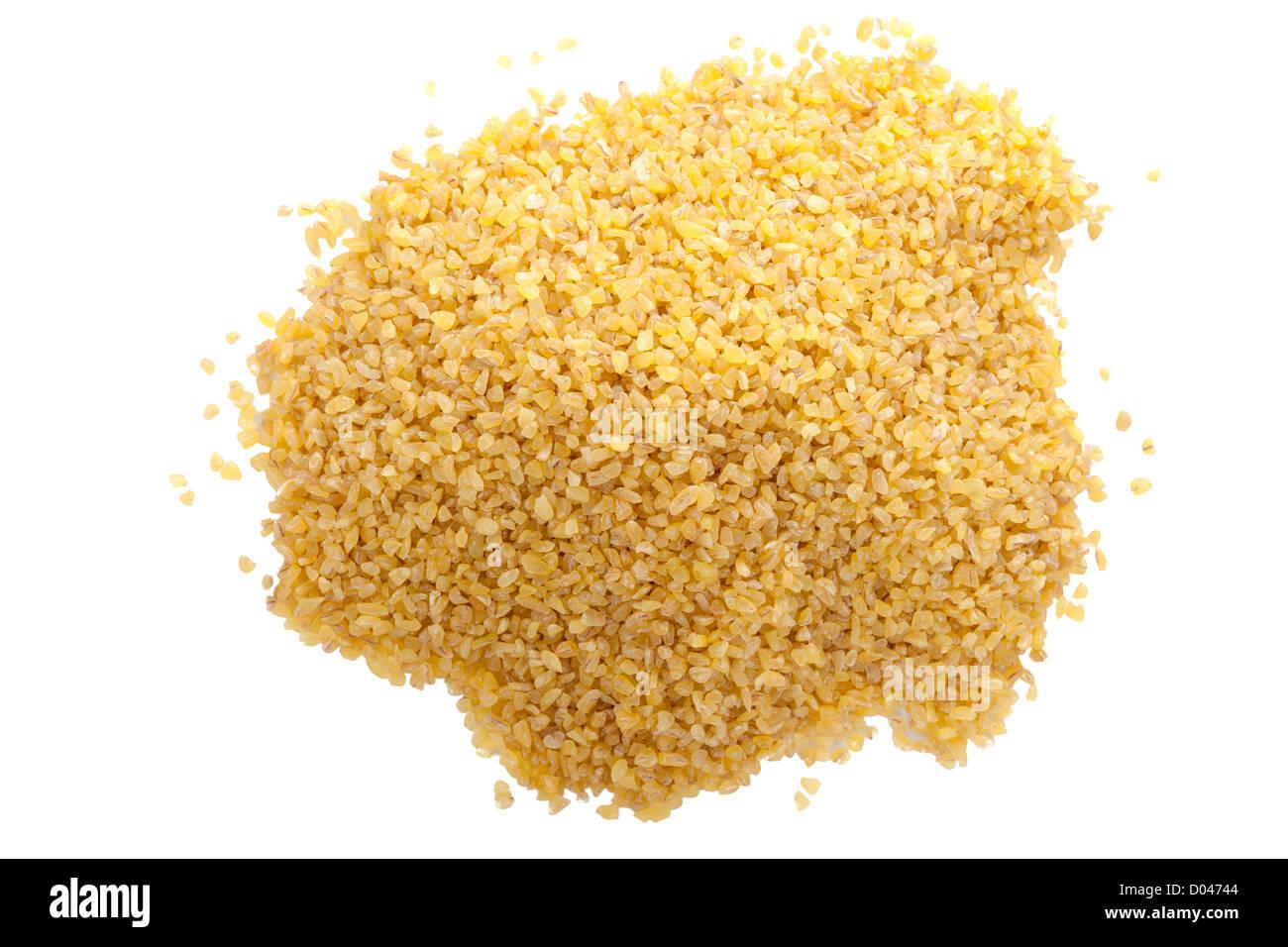 Bulgar / le blé concassé Photo Stock