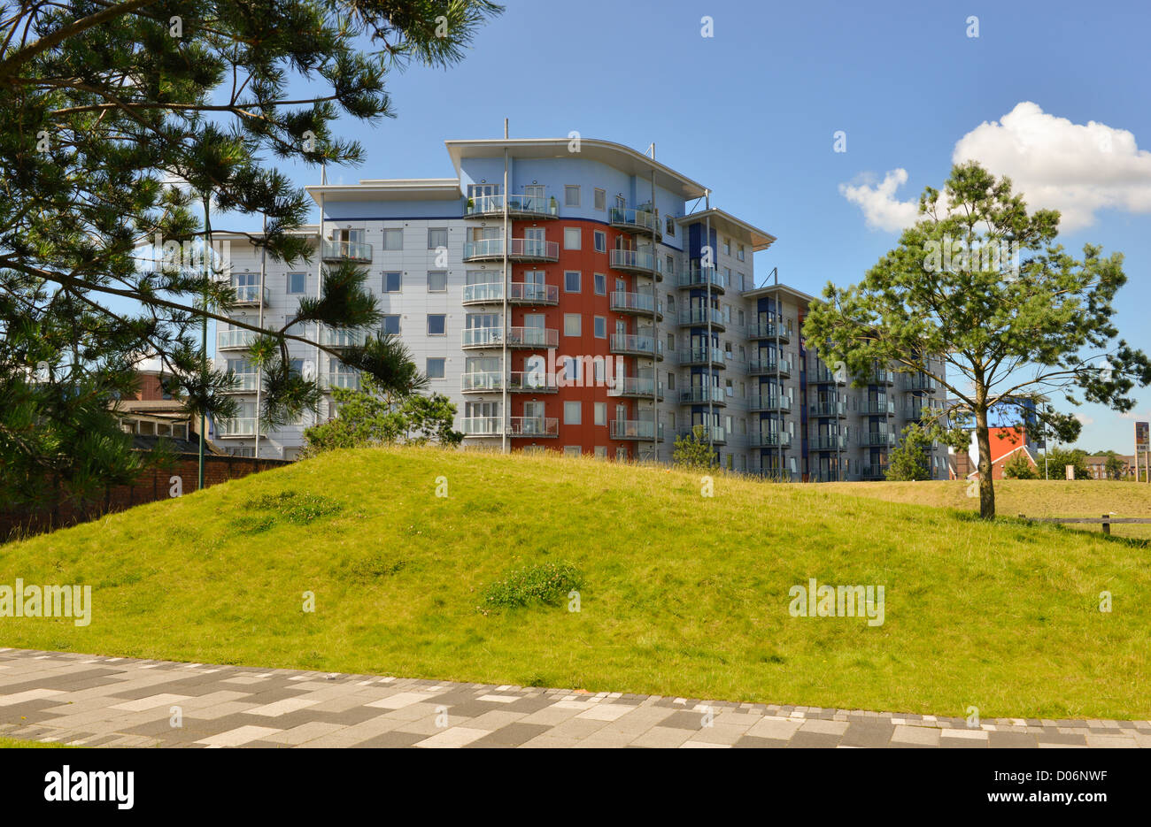 Appartements à Walsall, West Midlands Photo Stock