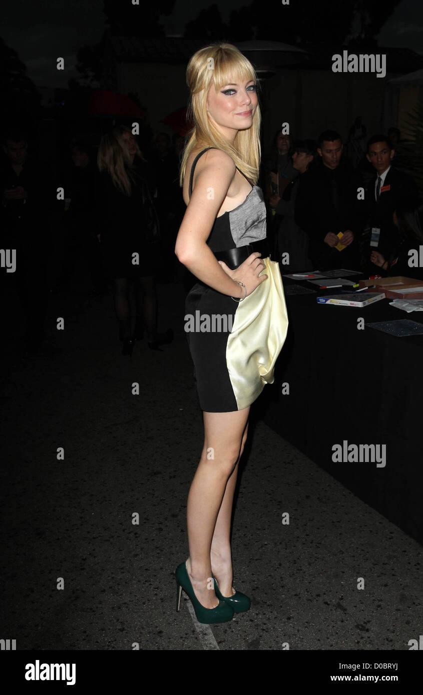 Emma Stone Trevor Vivre bénéficiant Le Trevor Project tenue à l'Hollywood Palladium Hollywood Photo Stock