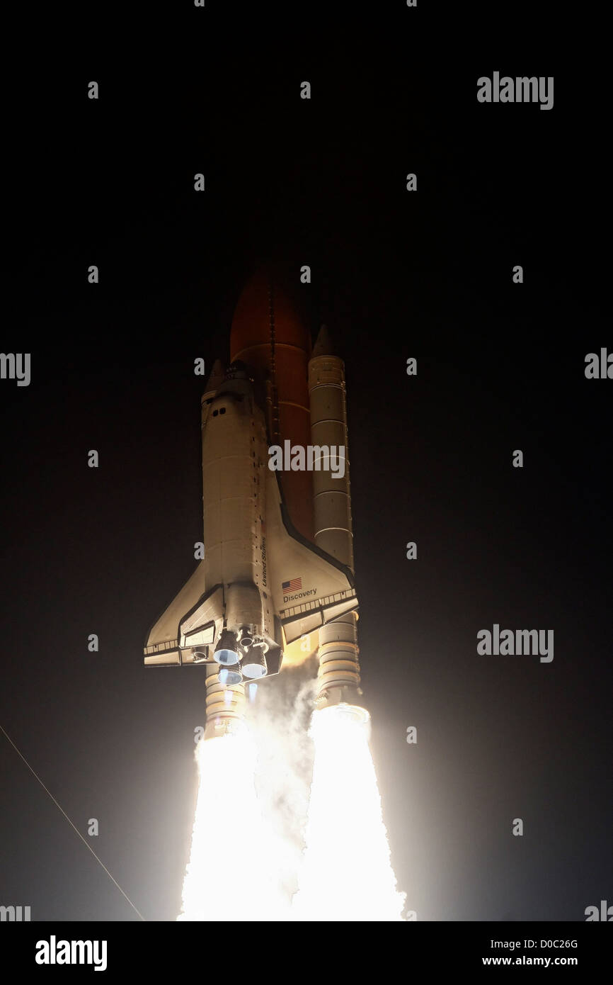 Sur STS-131 Discovery Lance Photo Stock