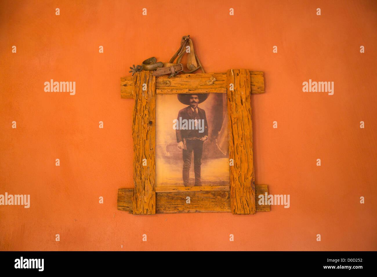 Photographie d'Emiliano Zapata, au Mexique, d'El Tuito, Costalegre, Jalisco, Mexique Photo Stock