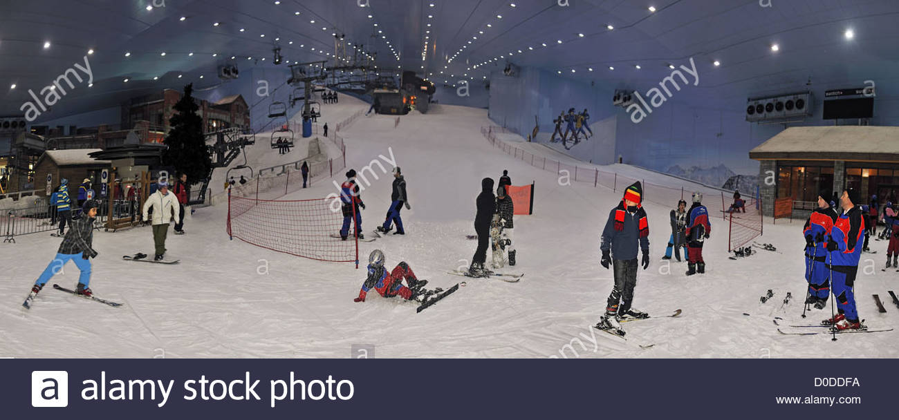 piste de ski indoor mall of the emirates duba emirats arabes unis moyen orient