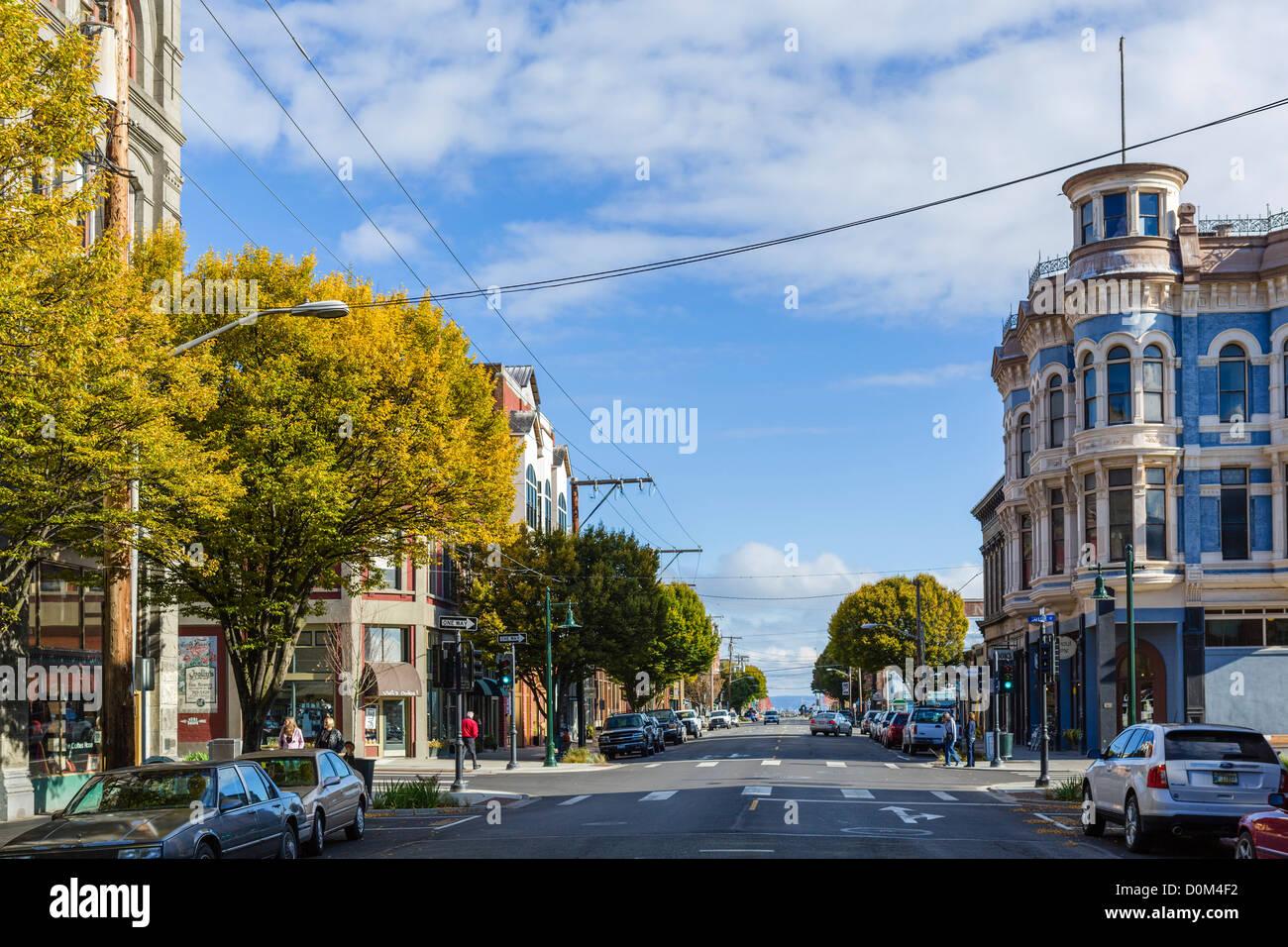Water street la rue principale port townsend de la péninsule olympique