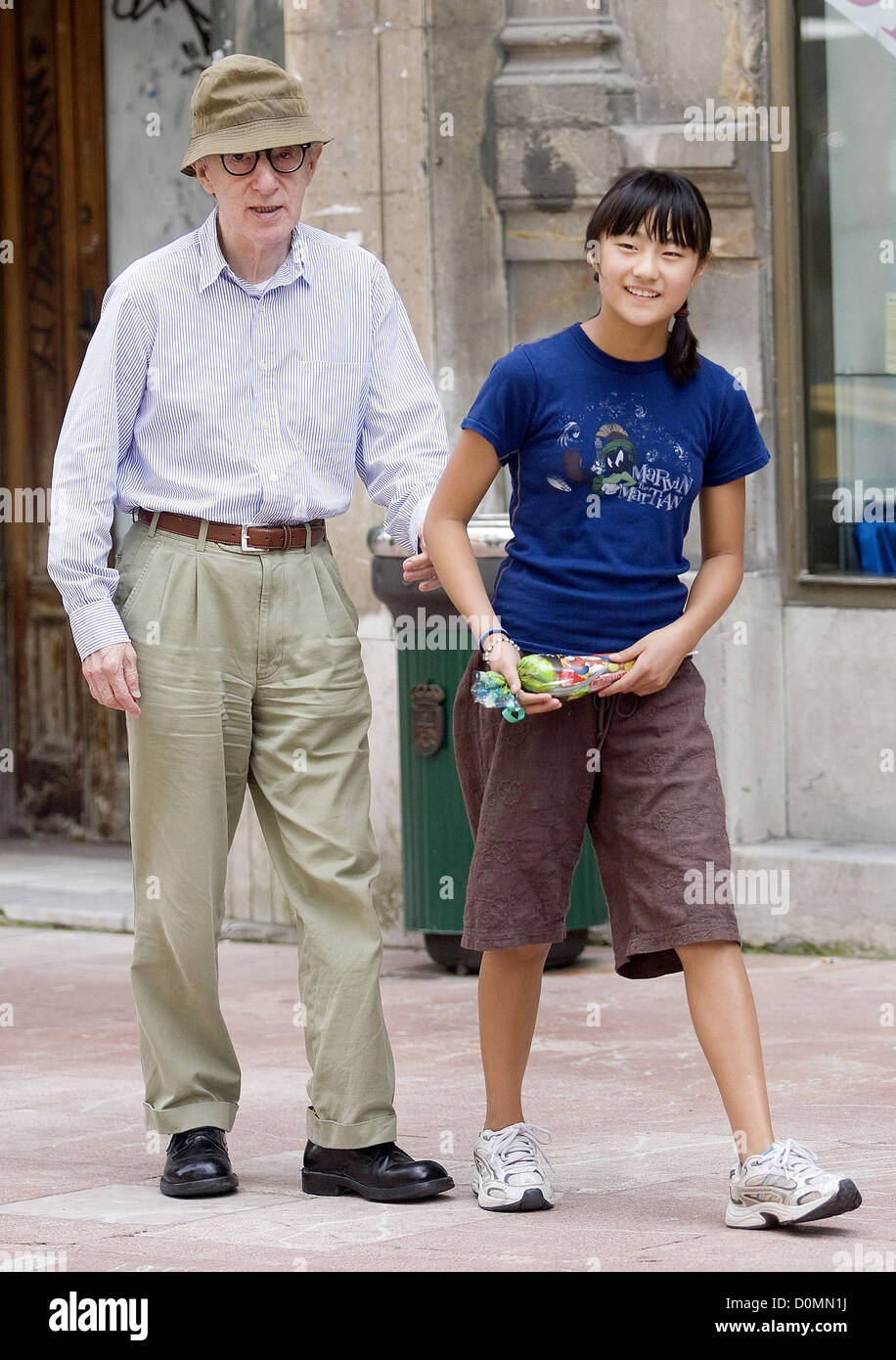 Soon-Yi Previn in Woody Allen, Soon-Yi And Daughters At