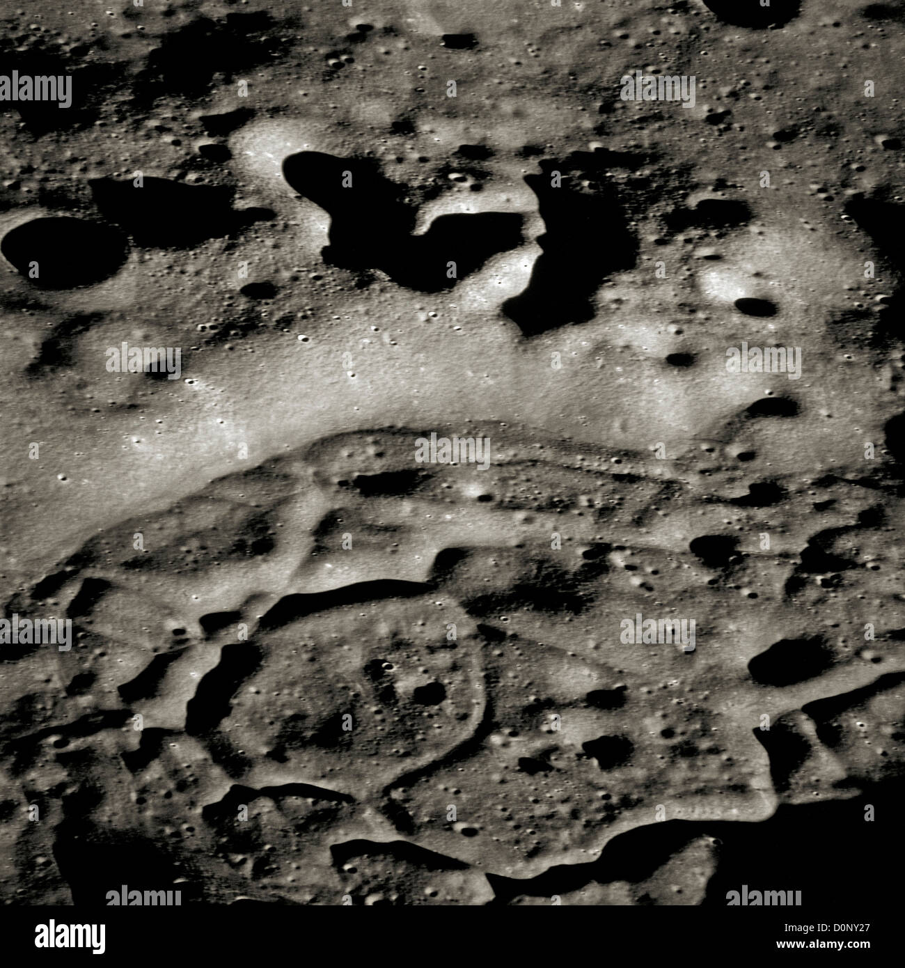 Apollo 14 - Lune Lava Photo Stock