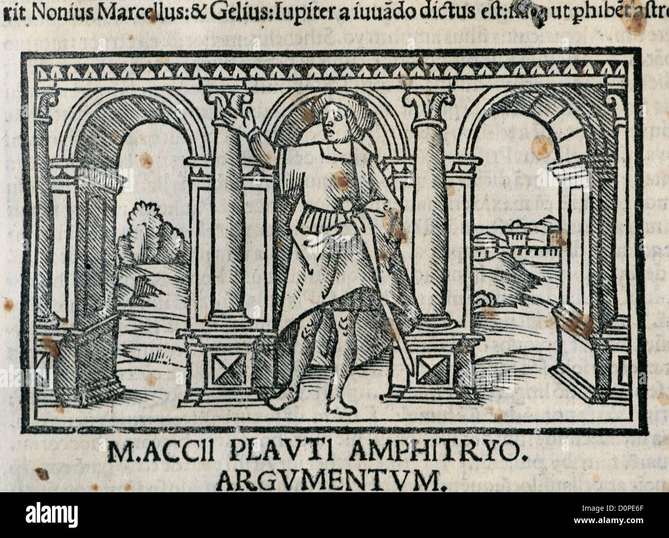 Titus Maccius Plautus 250 184 Dramaturge Latin L Hote Amphitryo