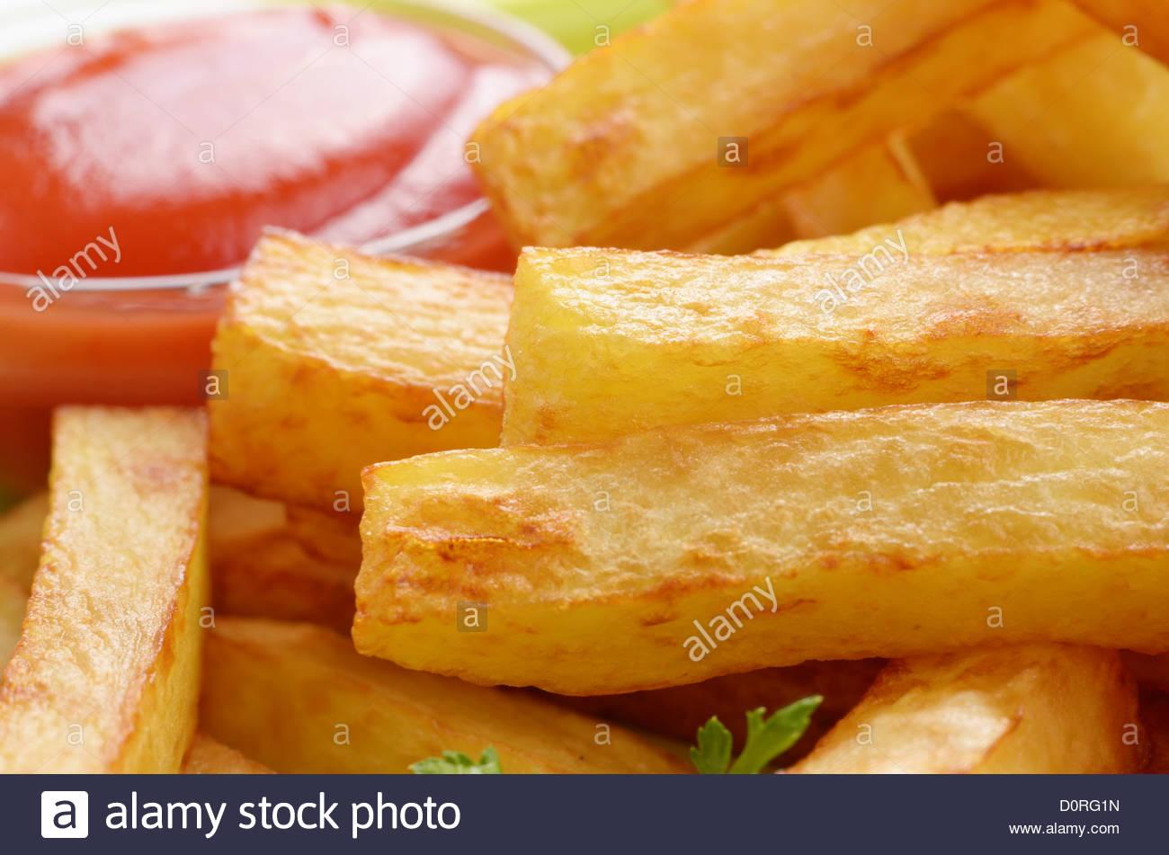 Fries français Photo Stock