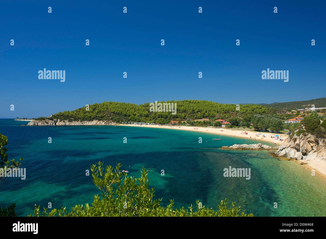 La Chalcidique, en Grèce, en Chalcidique, voyage, vacances, Europe, European, jour, Photo Stock