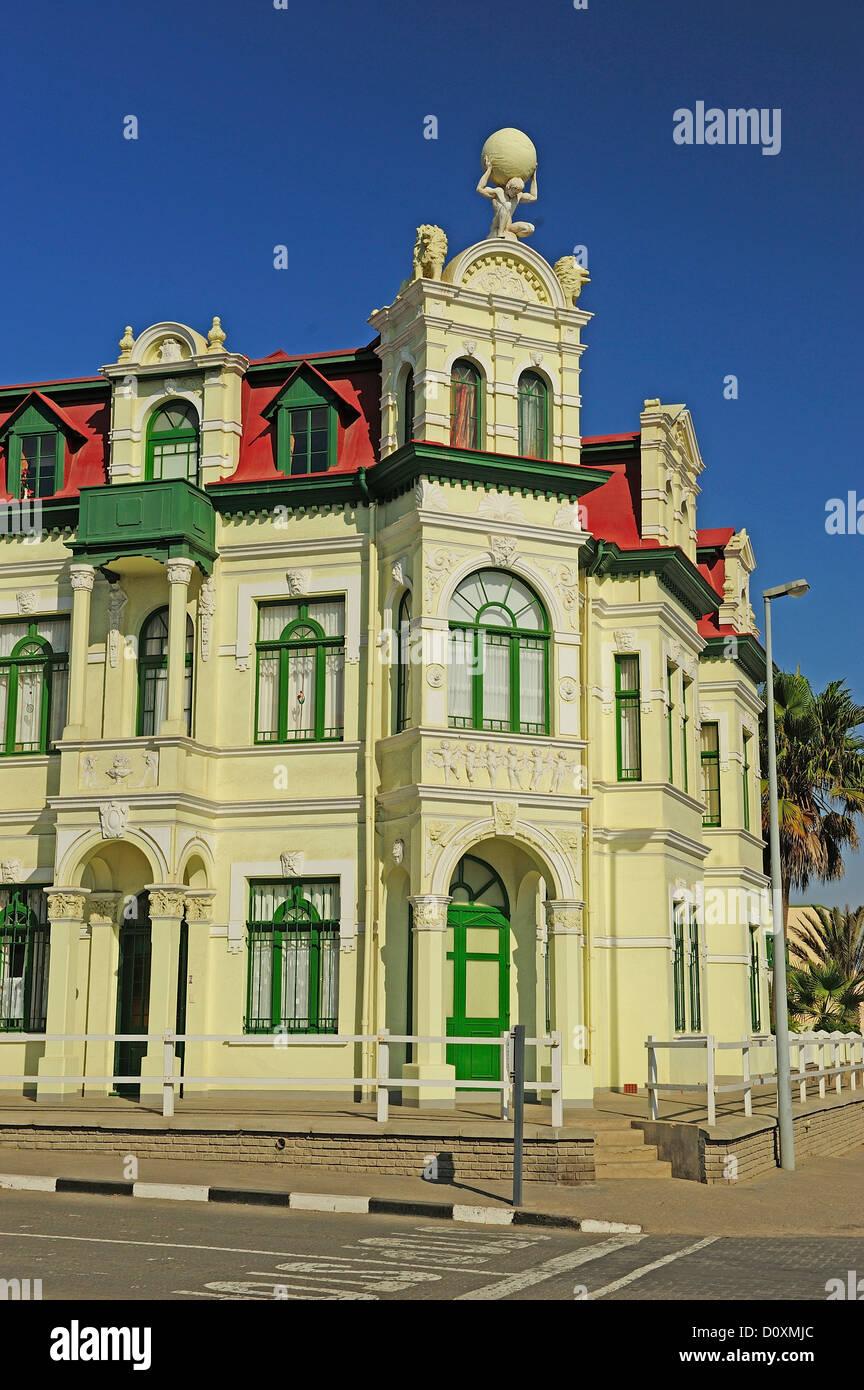 L'Afrique, la Namibie, Windhoek, ville, bâtiment Banque D'Images
