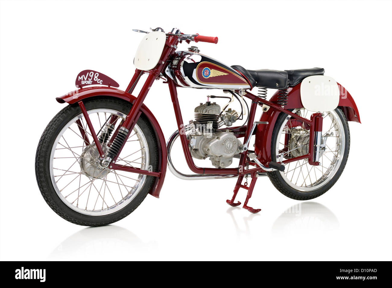 1946 MV Agusta motorcycle 98 Turismo Banque D'Images