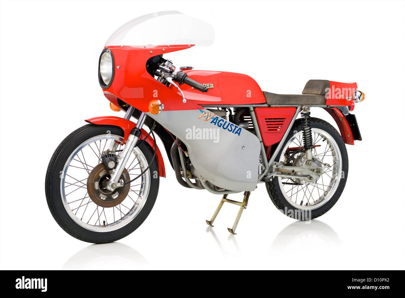 1972 MV Agusta 125 moto Supersport Banque D'Images