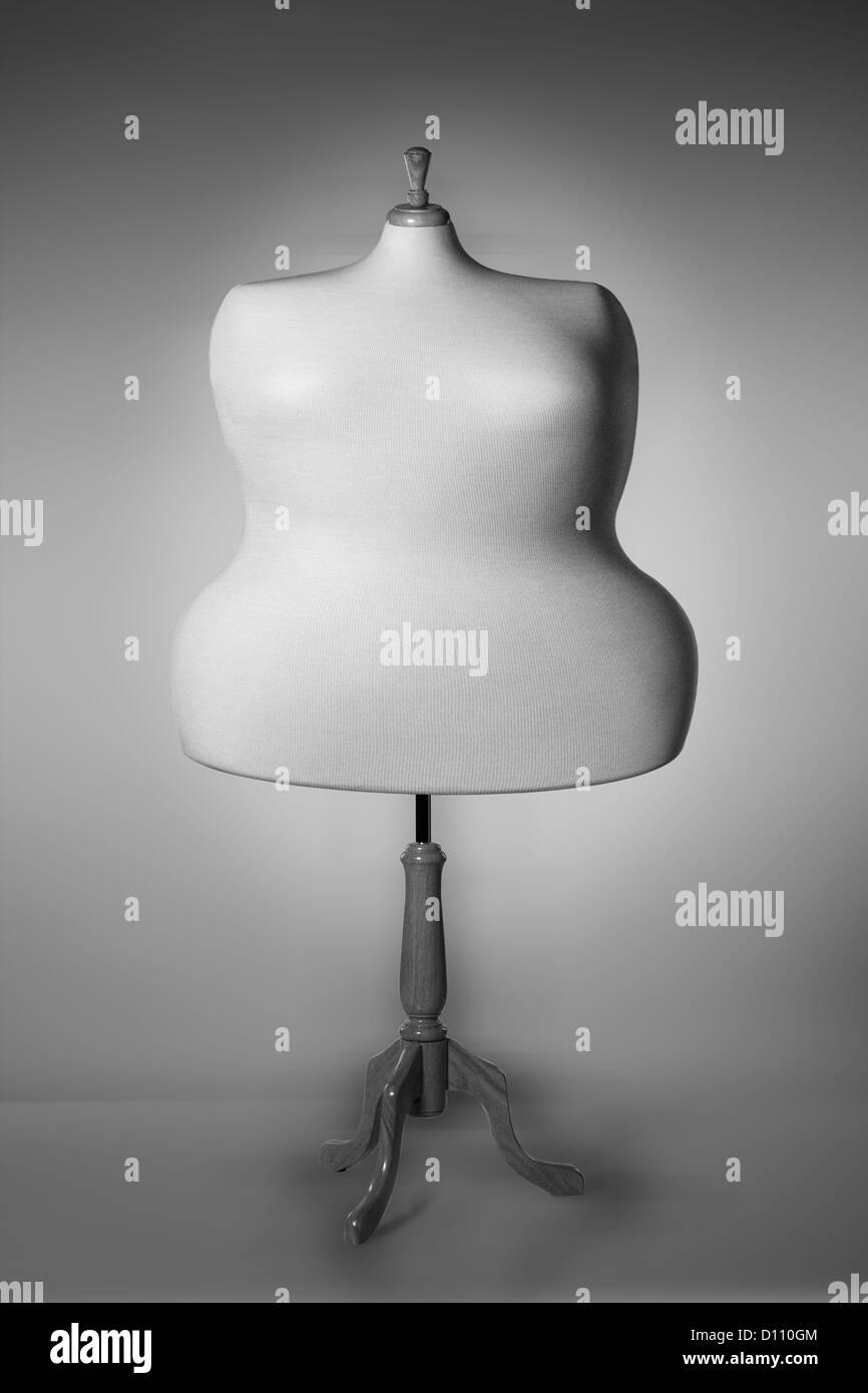 Mannequin obèse Photo Stock