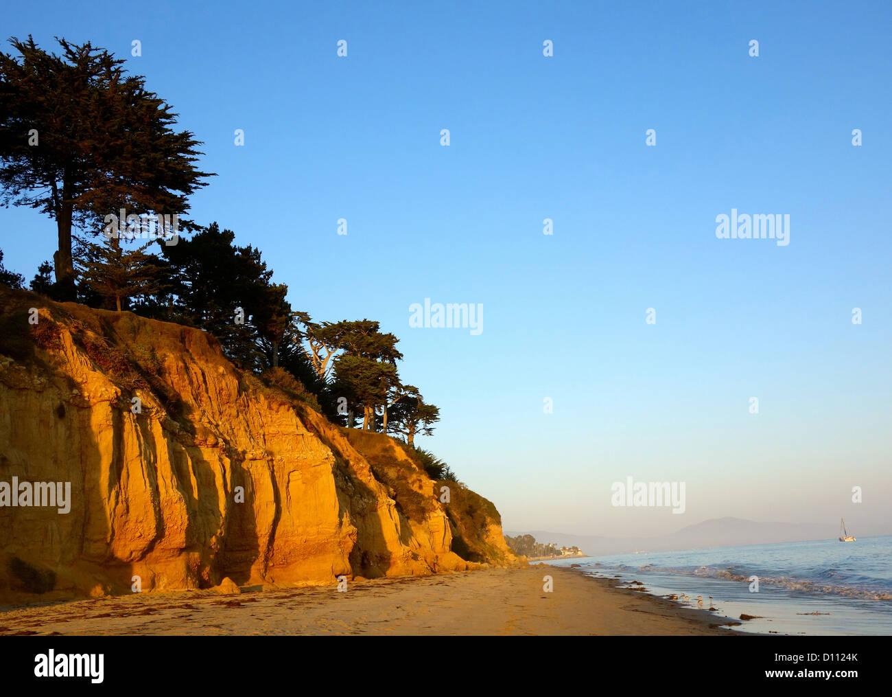 Butterfly Beach, Montecito, comté de Santa Barbara, Californie, États-Unis  Photo e008938fd749