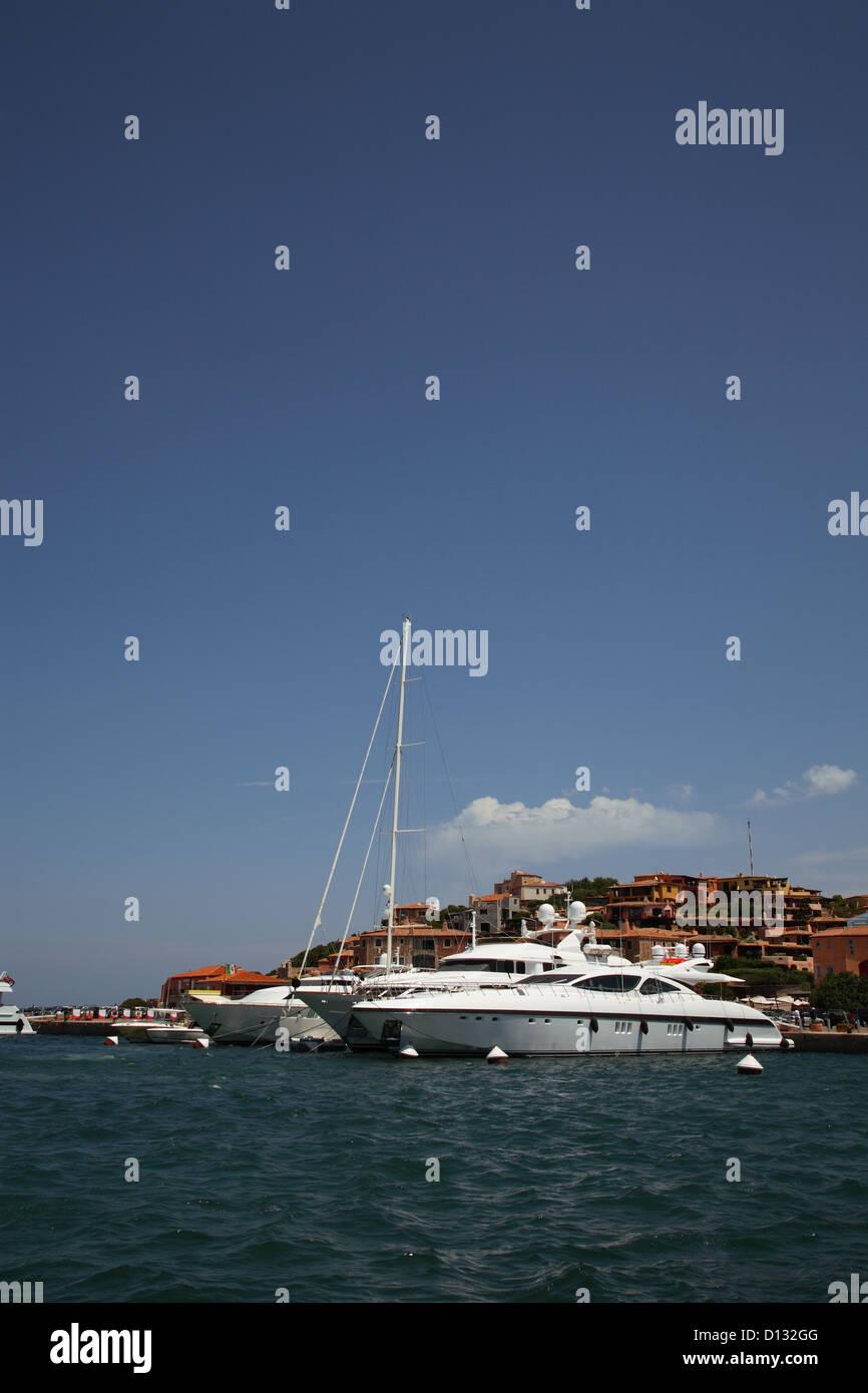 Port privé de luxe Photo Stock