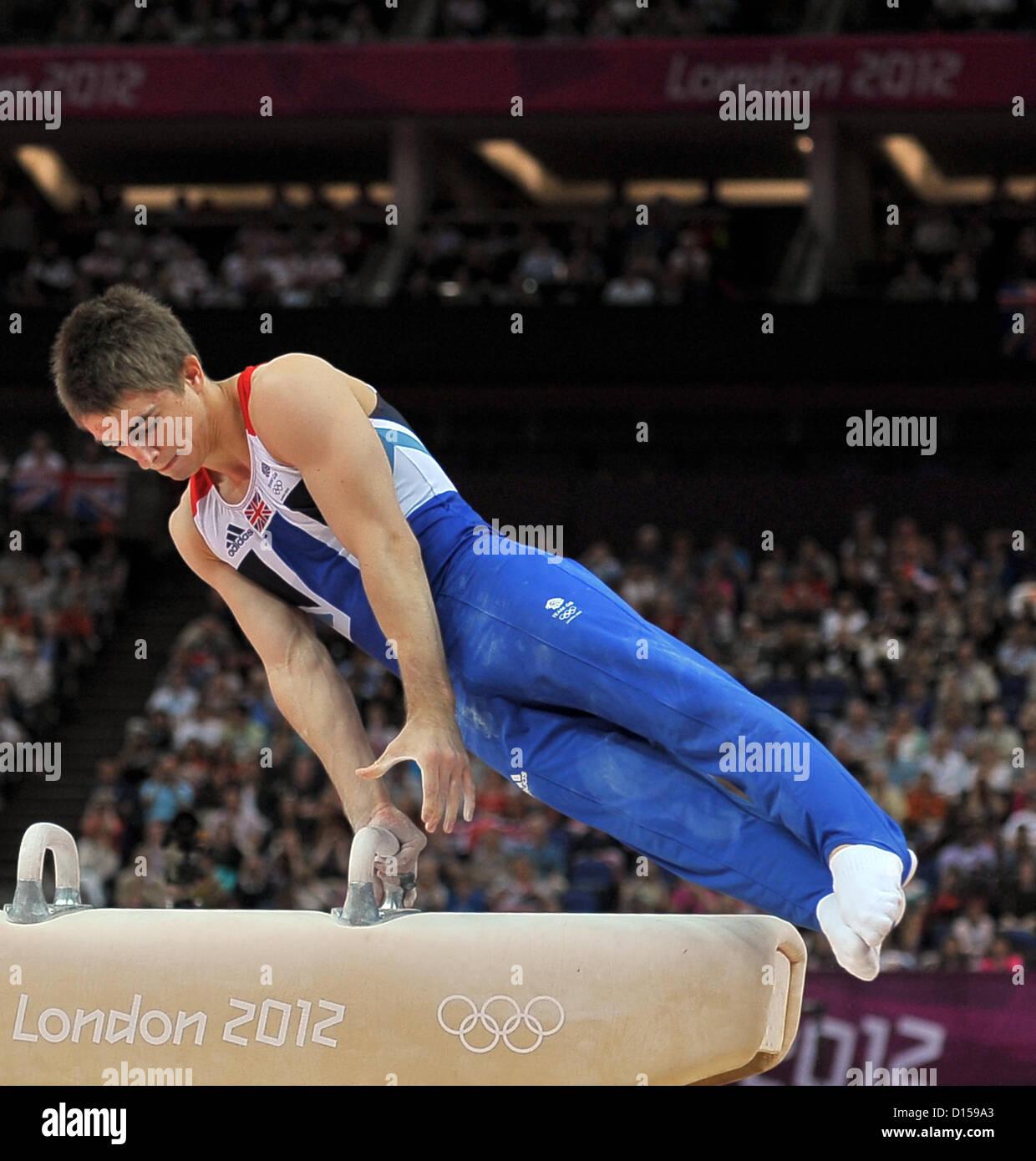 Max Whitlock (GBR, Grande-Bretagne). Gymnastique individuelle Photo Stock