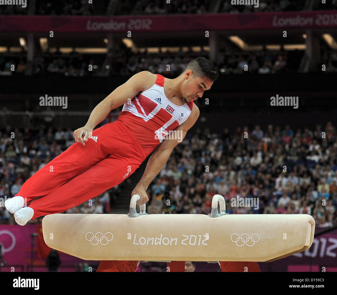 Louis Smith (GBR, Grande-Bretagne). Gymnastique individuelle Photo Stock