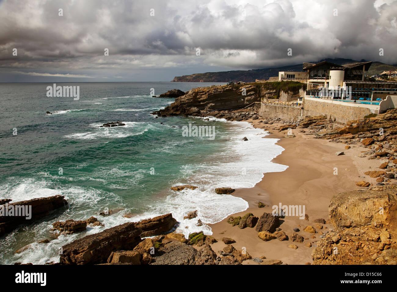 Guincho Cascais Portugal Plages Banque D'Images