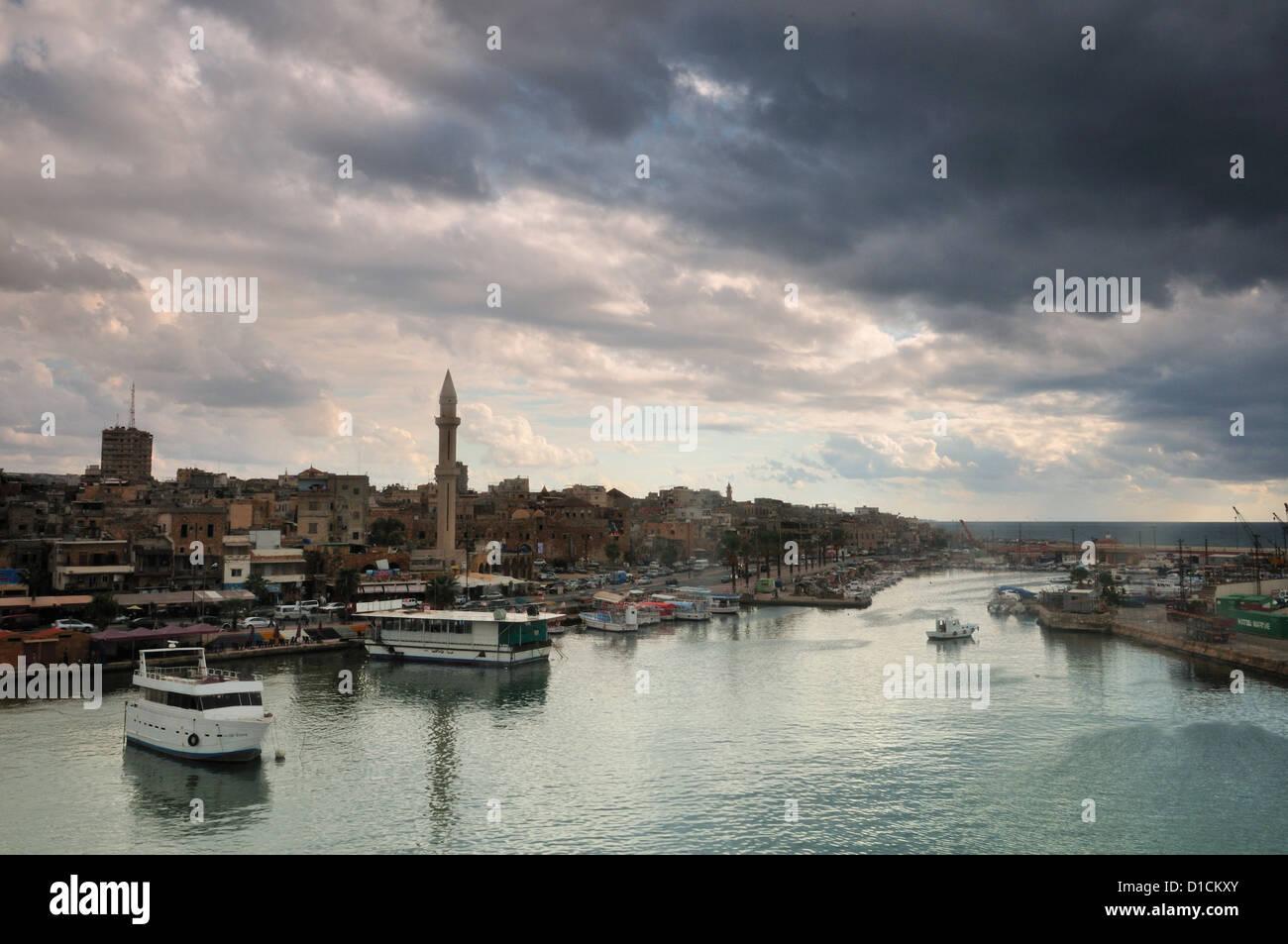L'ASDI, Sidon Sud Liban Photo Stock