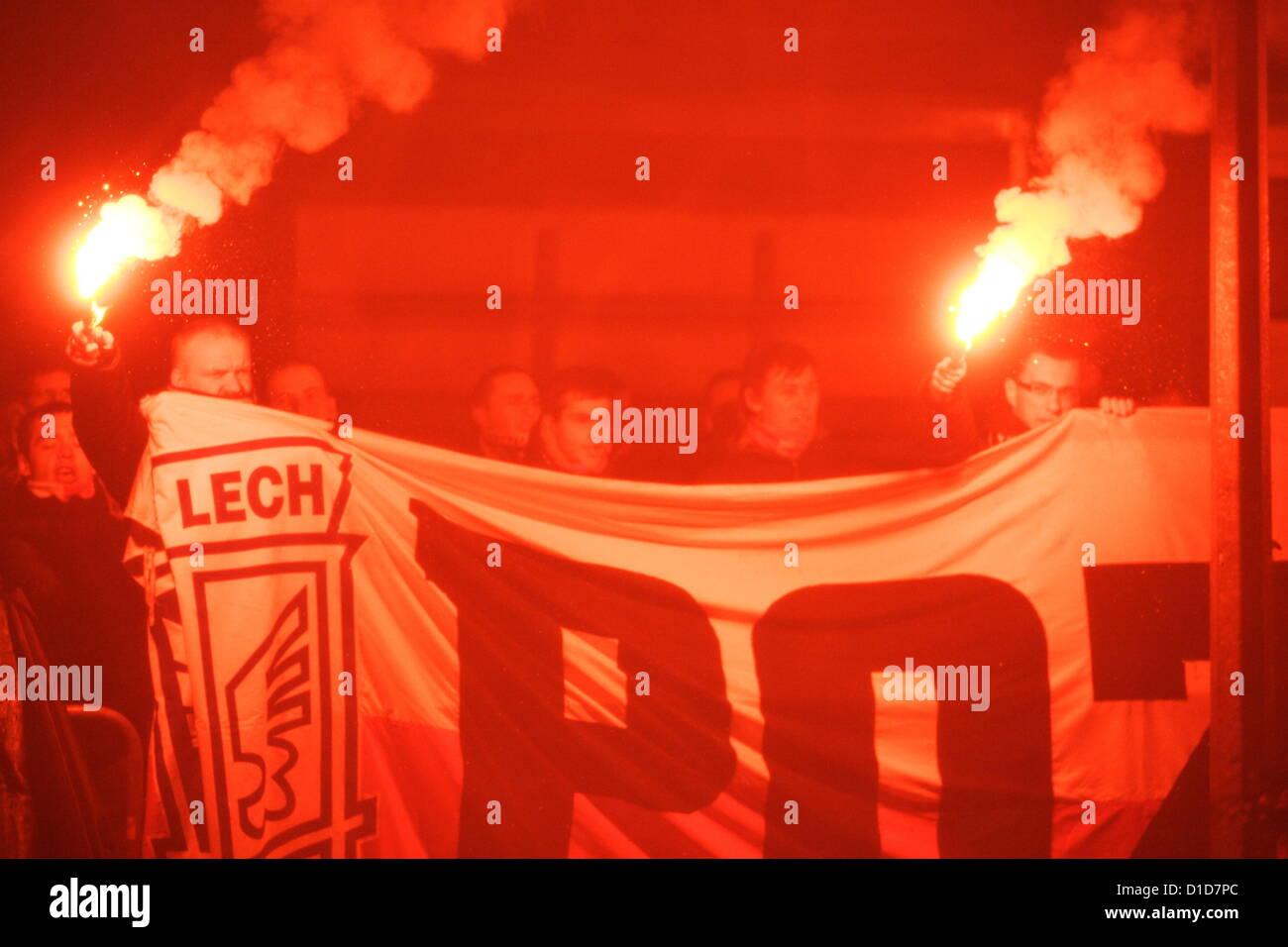 Gdynia , Pologne 17e, décembre 2012 42e anniversaire de 1970 manifestations polonais de Gdynia célébrée sous les Banque D'Images