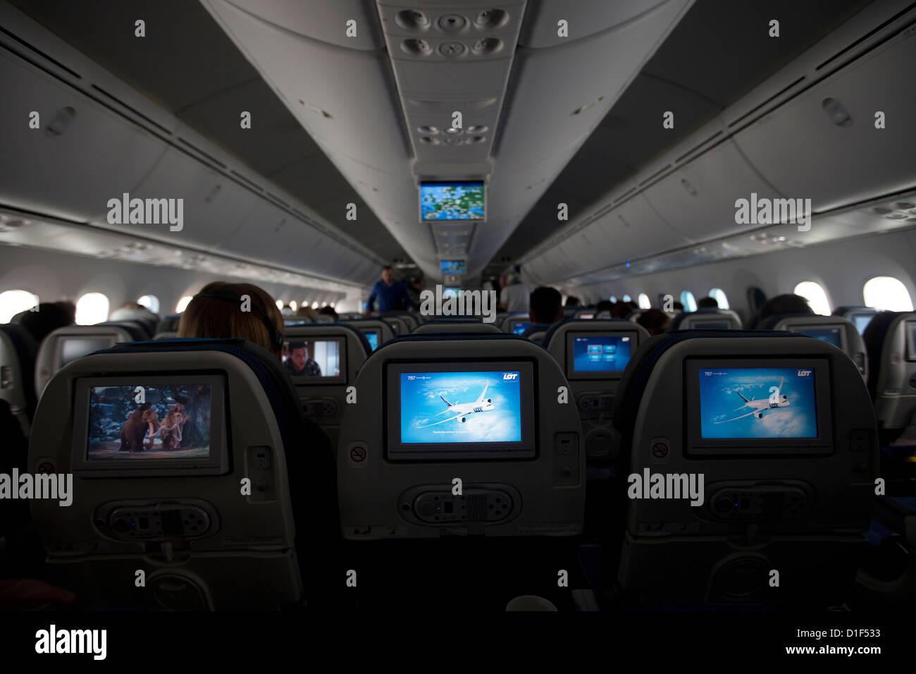 lintrieur de boeing 787 dreamliner