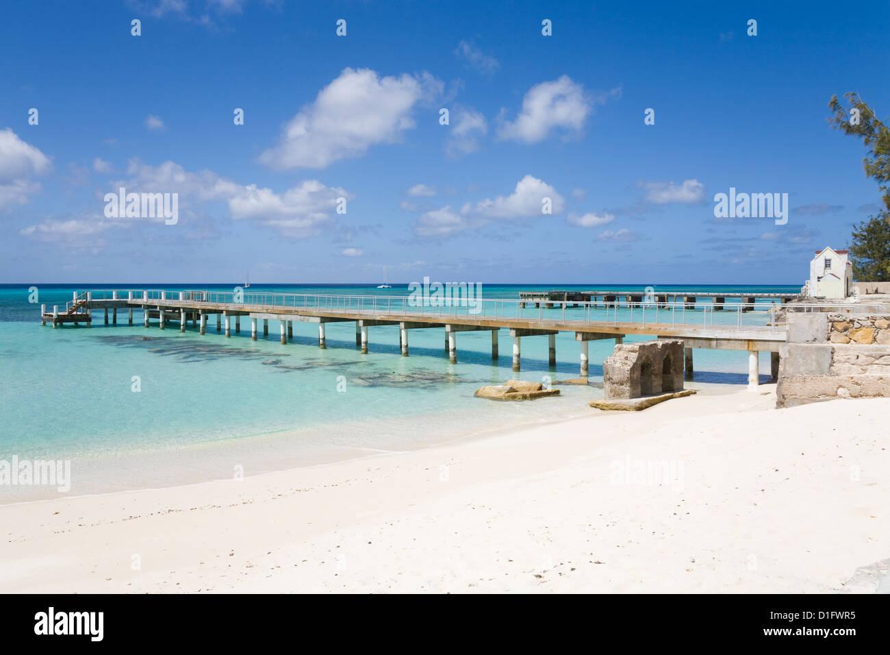 Parc National Terre de Columbus, l'île de Grand Turk, Îles Turques et Caïques, Antilles, Caraïbes, Photo Stock