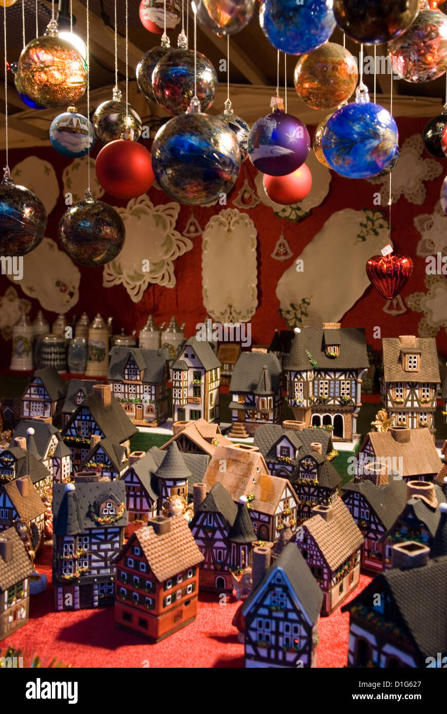 Blocage de décoration de Noël, Berlin, Germany, Europe Photo Stock