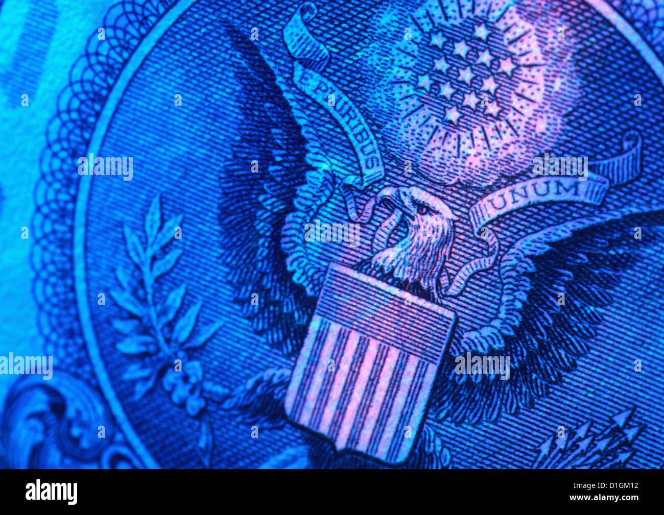 L'argent, dollar Américain Photo Stock