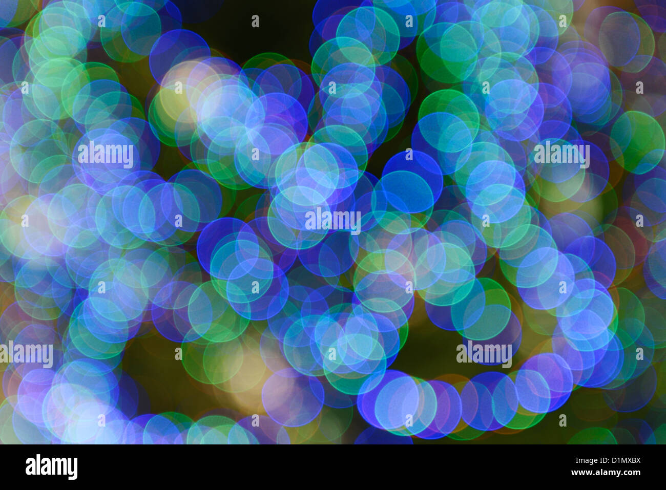 Voyants de couleur motif abstrait Photo Stock