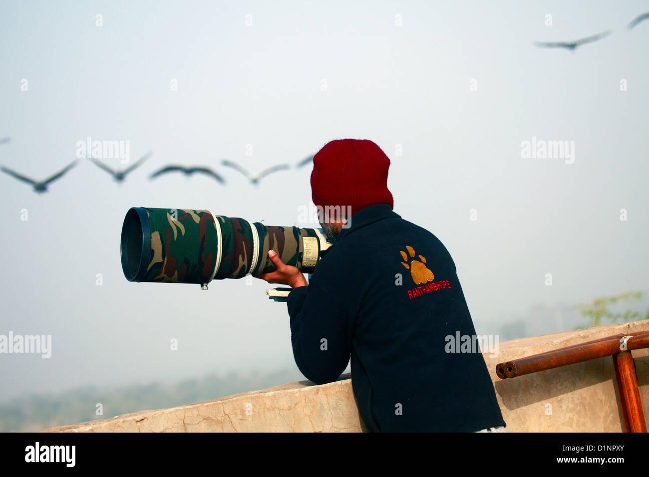 Photographe professionnel Photo Stock