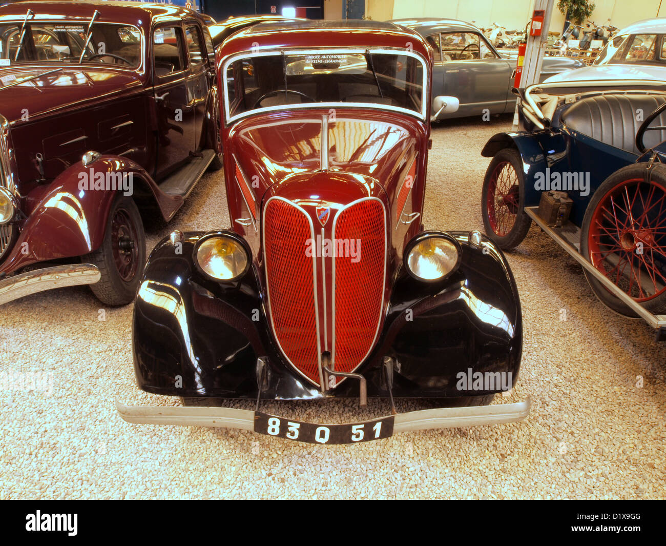 mus e automobile reims champagne 1936 collection rosengart lr 4 n2 banque d 39 images photo stock. Black Bedroom Furniture Sets. Home Design Ideas