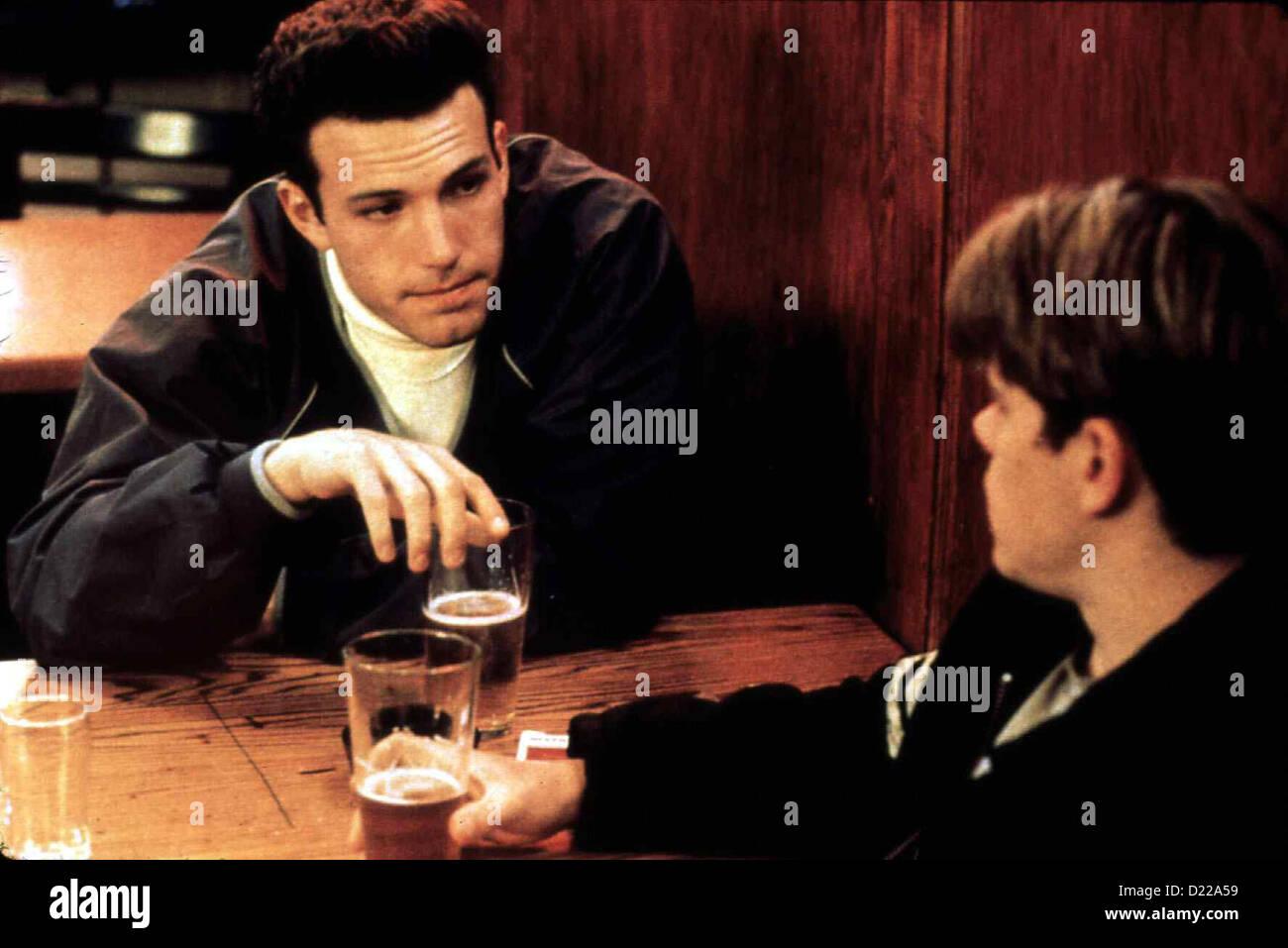 Good Will Hunting Good Will Hunting Ben Affleck, Matt Damon , Ben Affleck Chuckie (l ) tsi permettra (Matt Damon) Photo Stock