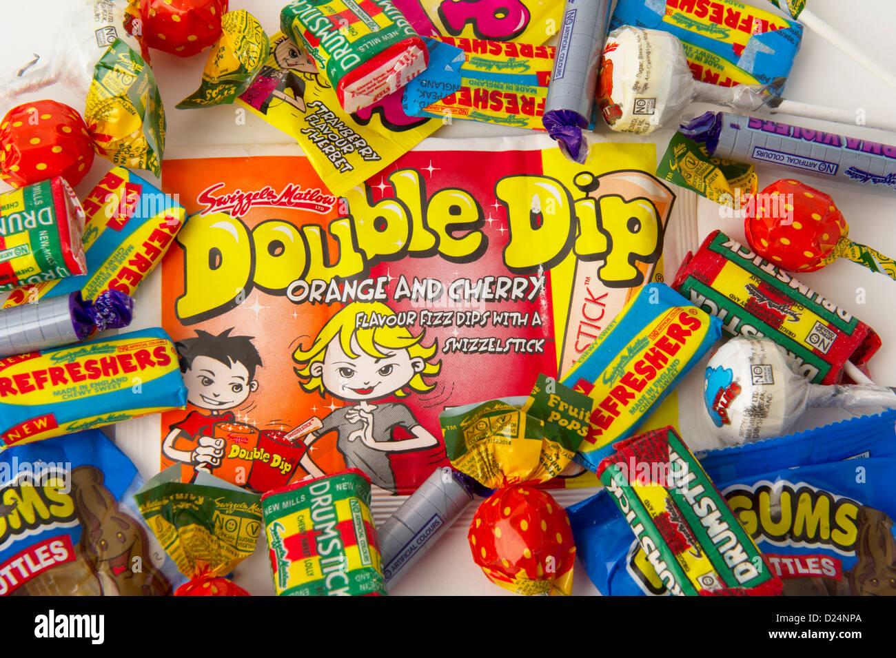 «bonbons rétro» Photo Stock