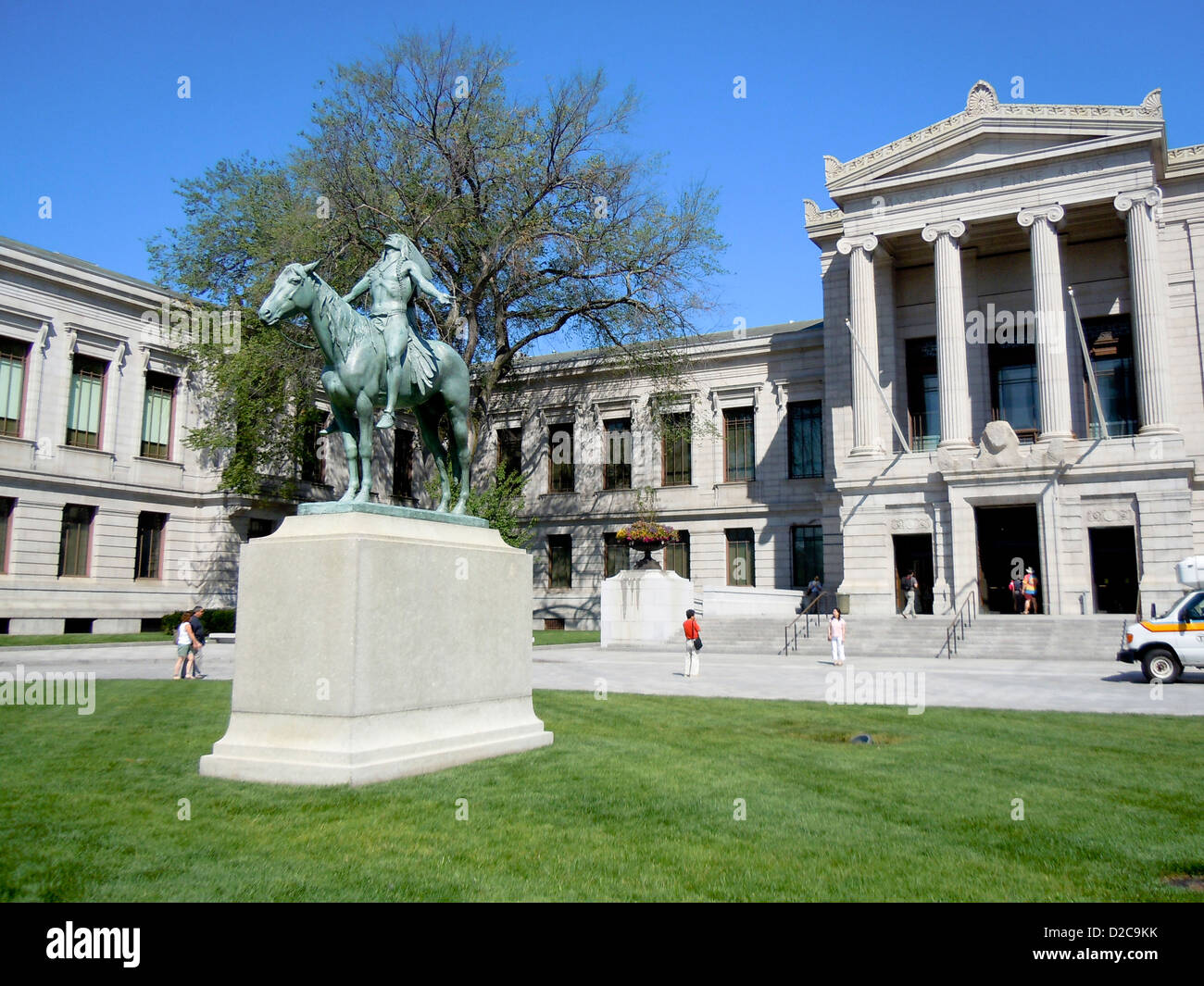 Museum of Fine Arts, Boston, Massachusetts Photo Stock