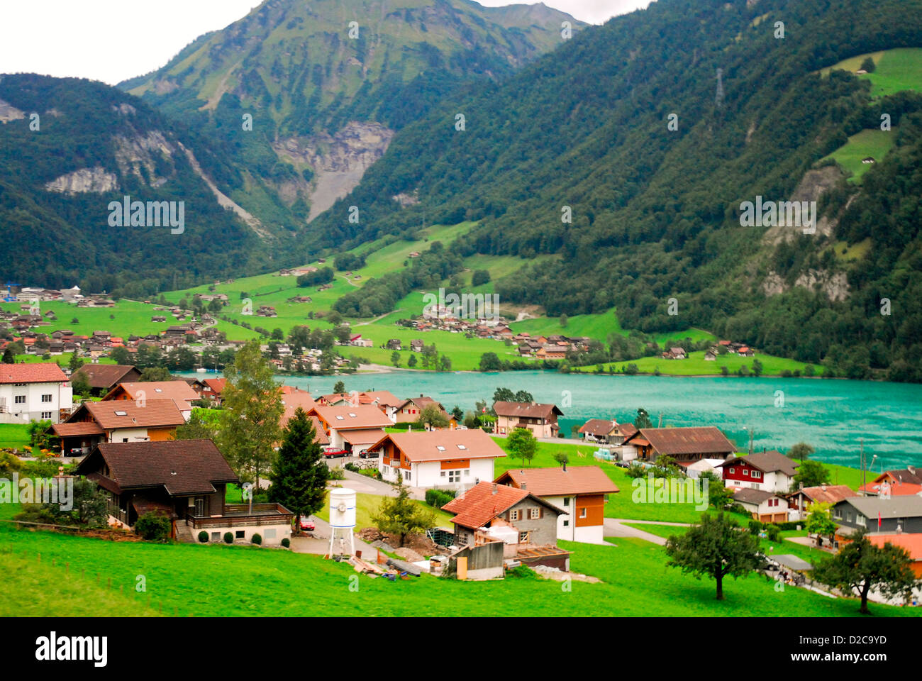 Village Suisse Photo Stock