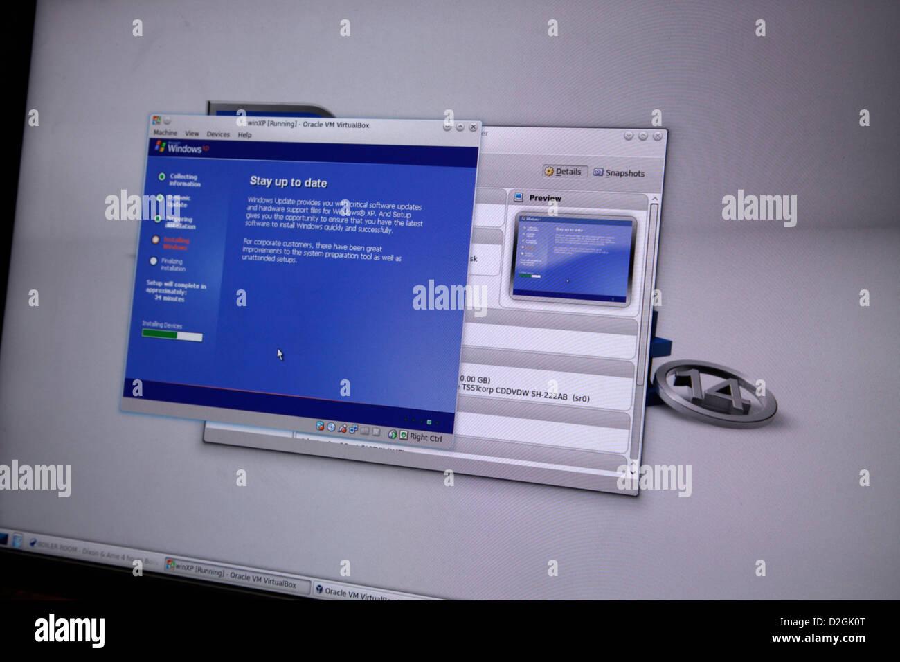 Virtualbox Windows Xp Créez votre machine virtuelle Windows XP