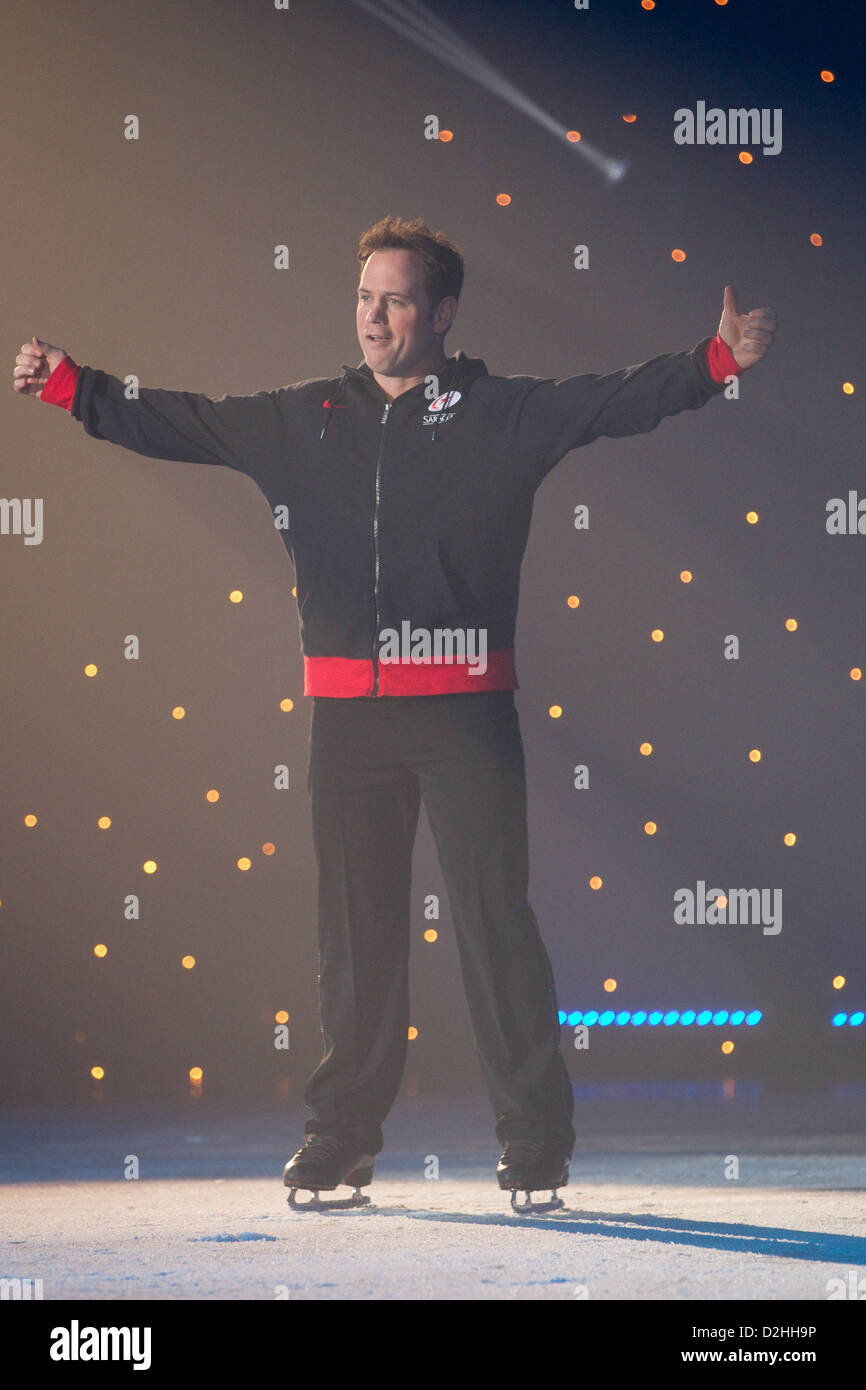 Kyran Bracken des Stars on Ice Photo Stock
